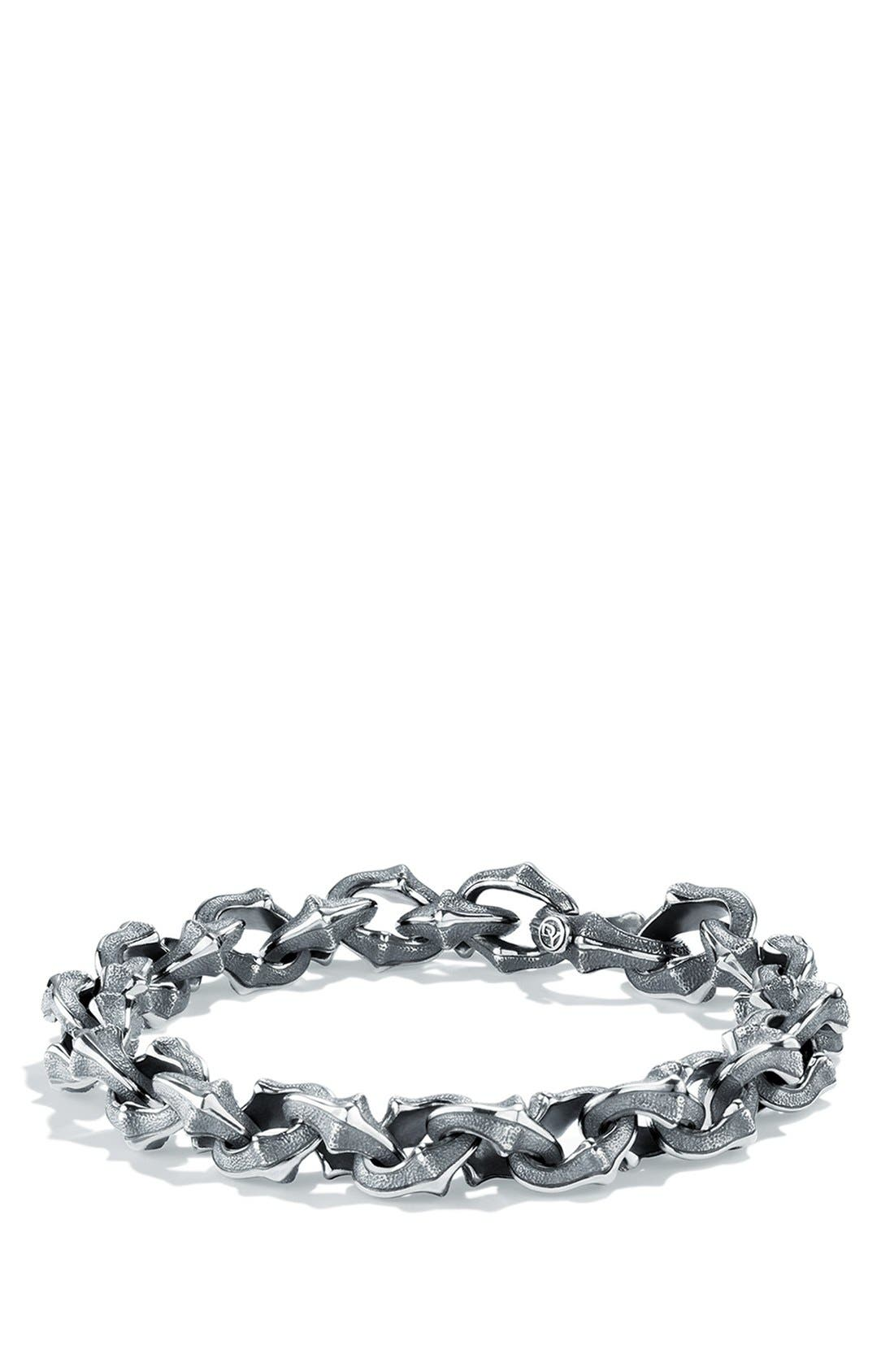 'Armory' Small Link Bracelet,                             Main thumbnail 1, color,                             SILVER