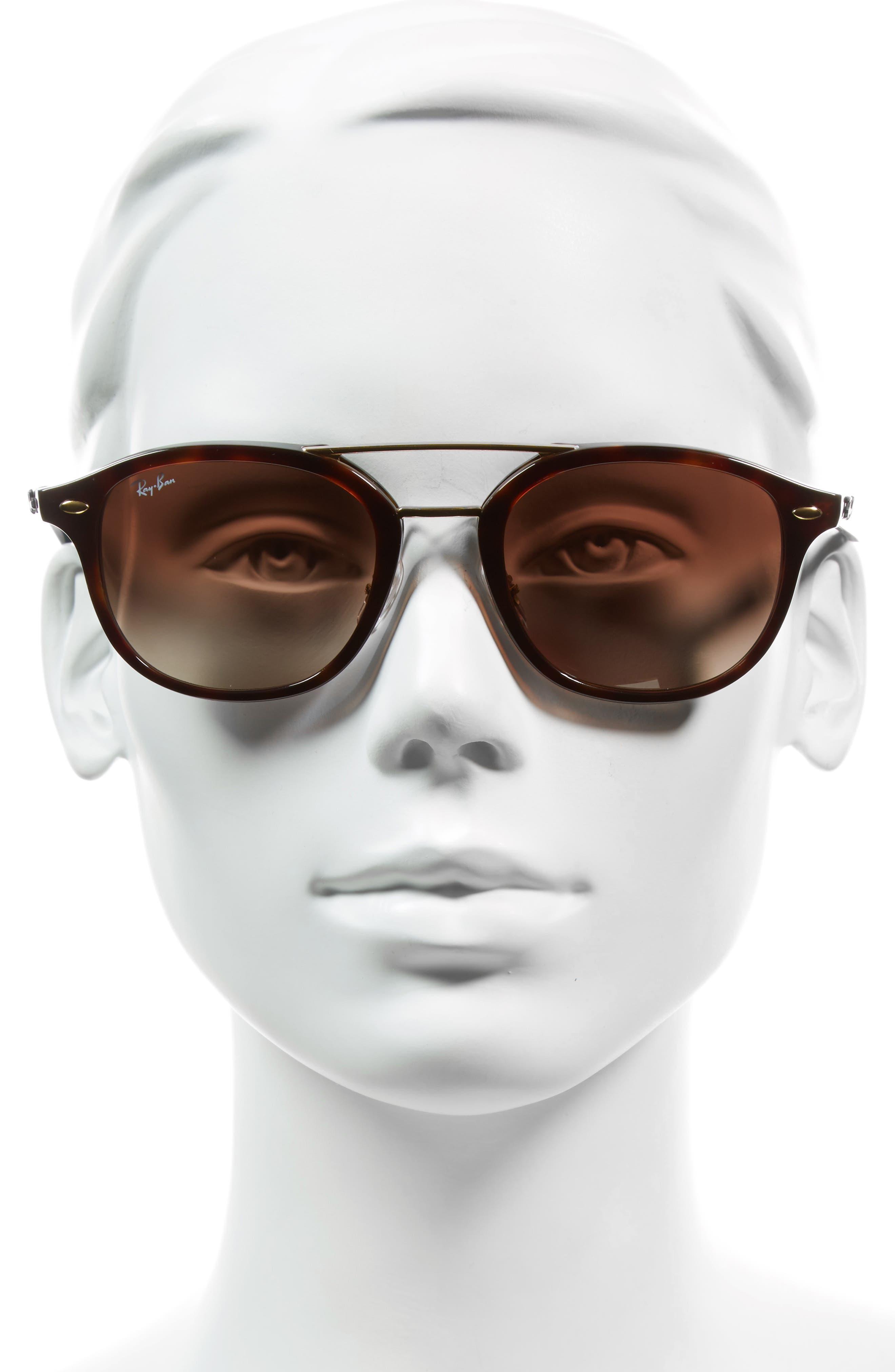 53mm Aviator Sunglasses,                             Alternate thumbnail 2, color,                             905