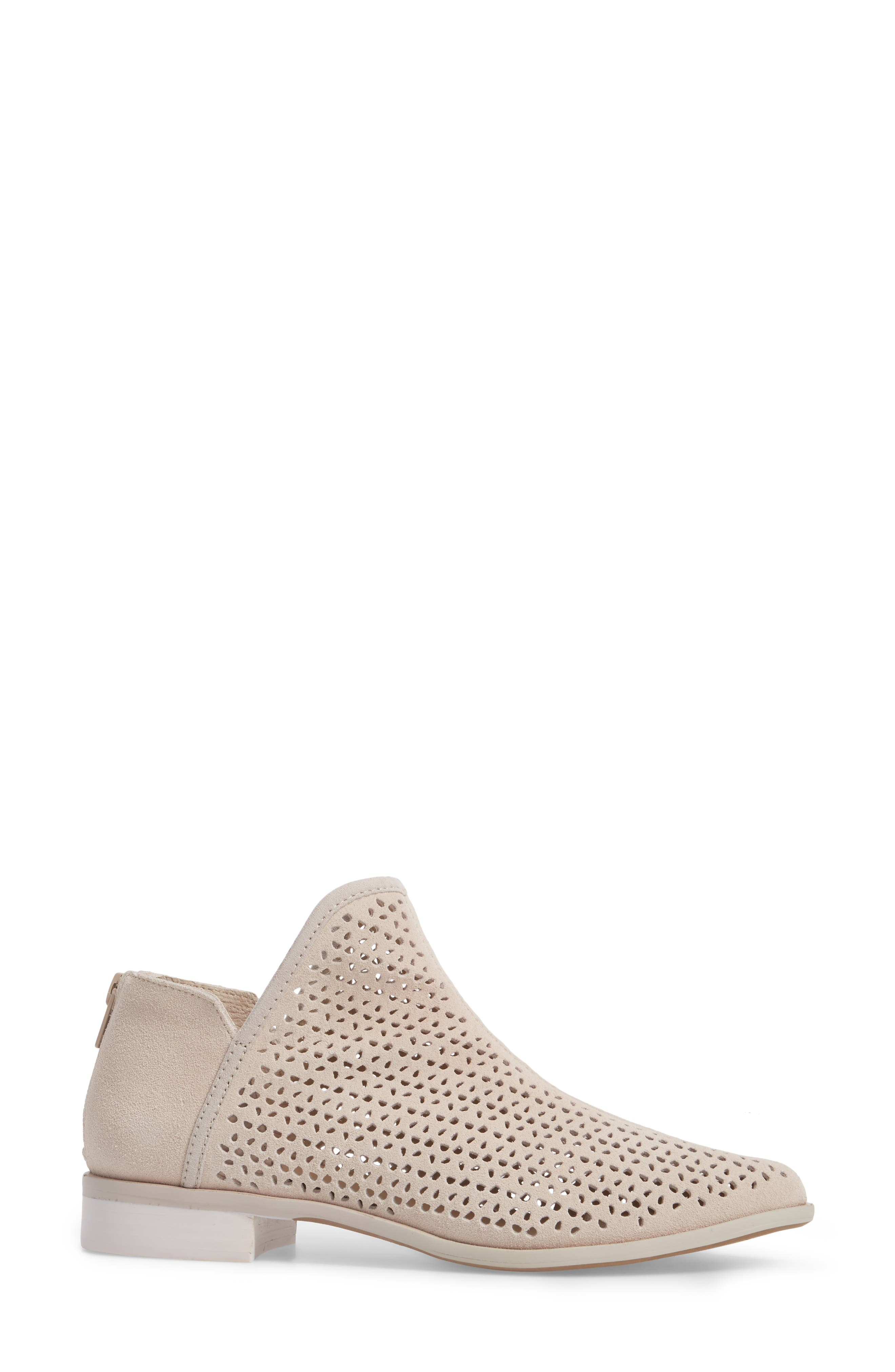 Alley Perforated Bootie,                             Alternate thumbnail 3, color,                             WHEAT