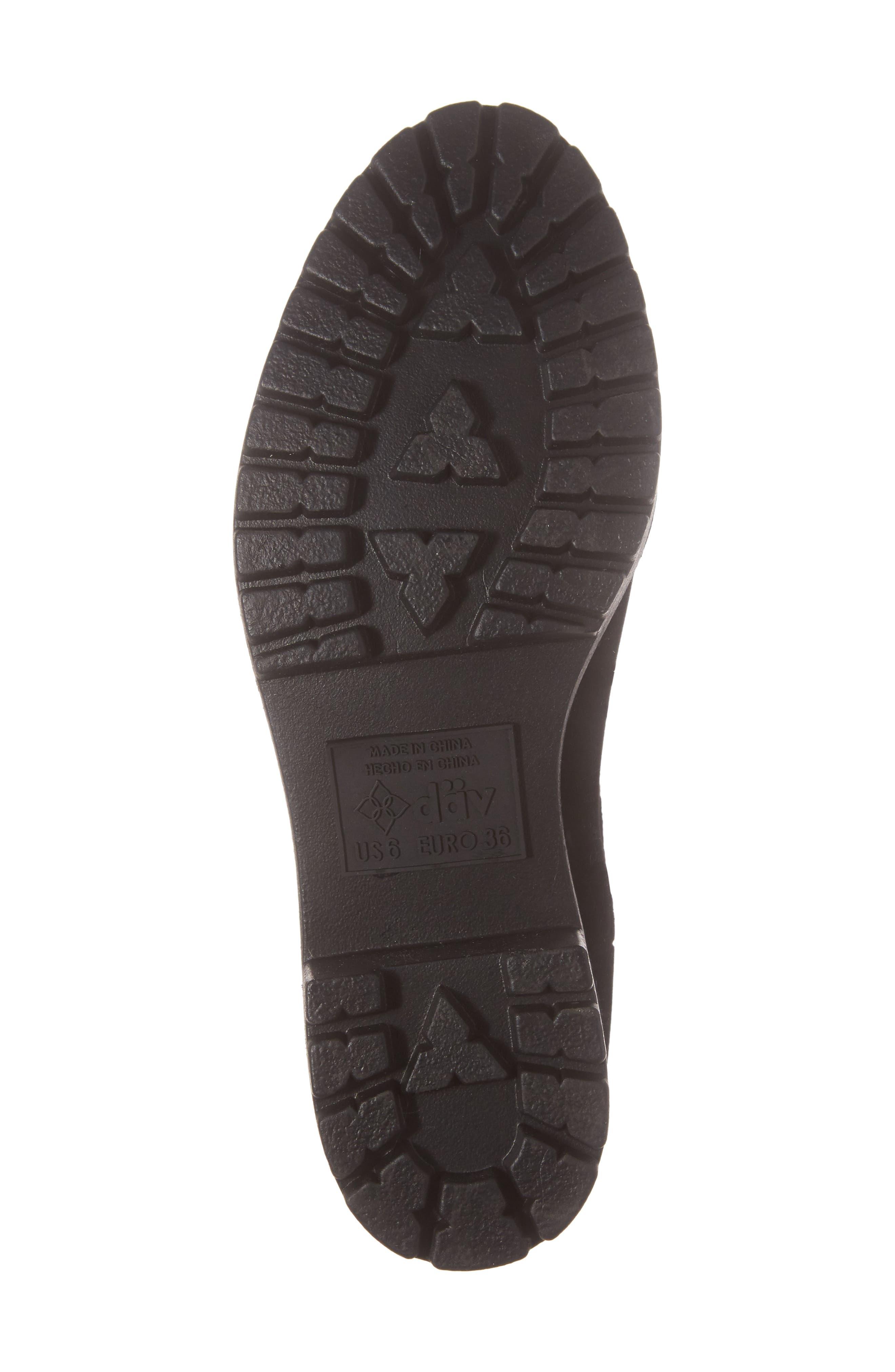 Leeds Lace-Up Waterproof Boot,                             Alternate thumbnail 6, color,                             BLACK