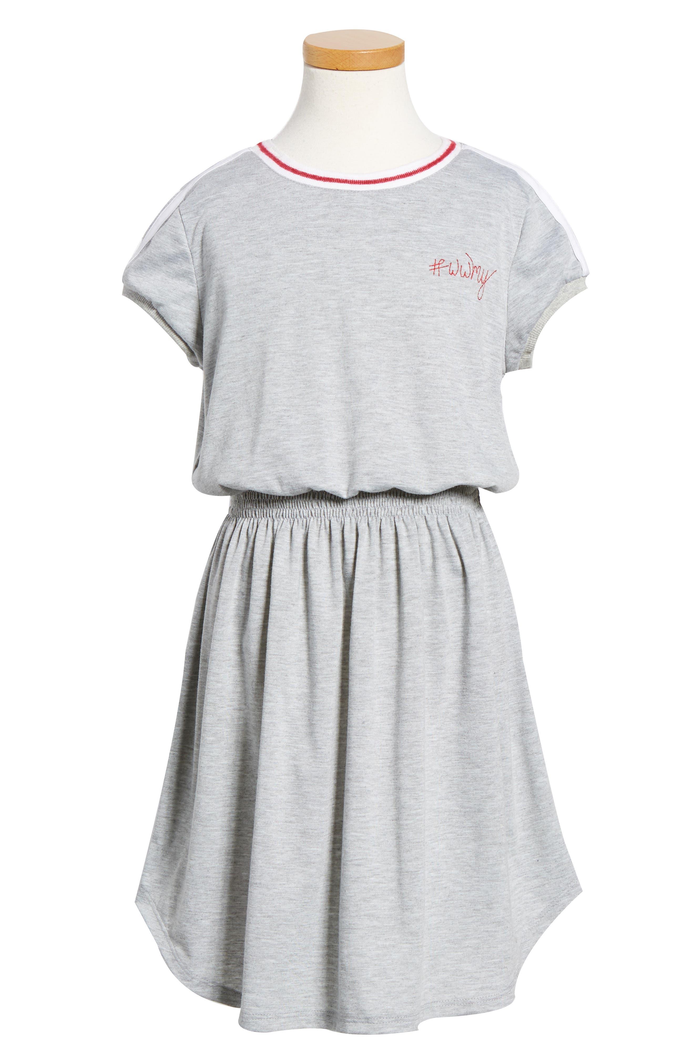 Knit Dress,                             Main thumbnail 1, color,                             020
