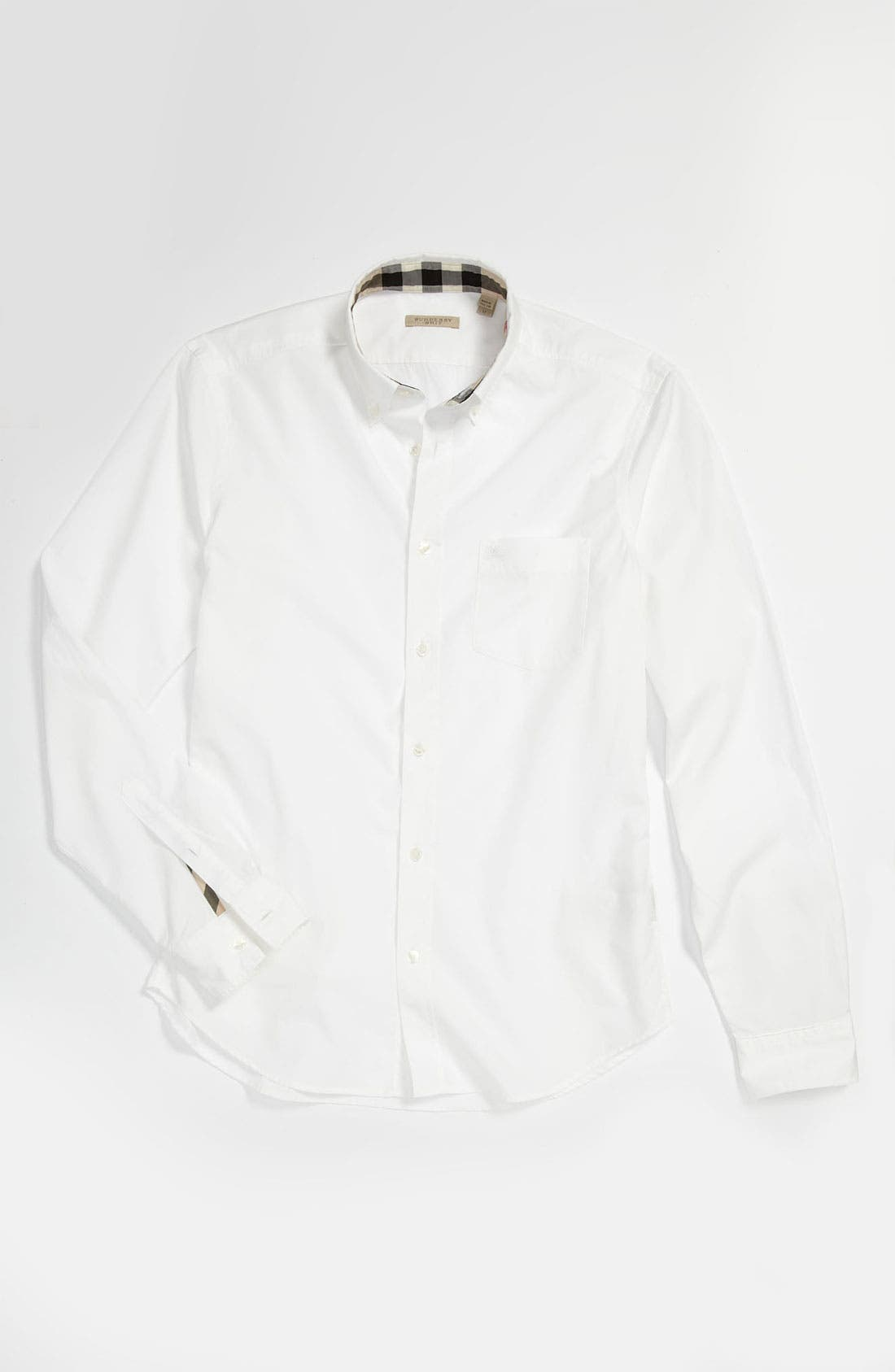 Brit 'Fred' Button Down Shirt,                             Alternate thumbnail 2, color,                             100