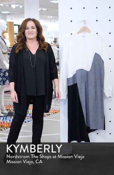 Colorblock Asymmetric Dress, sales video thumbnail