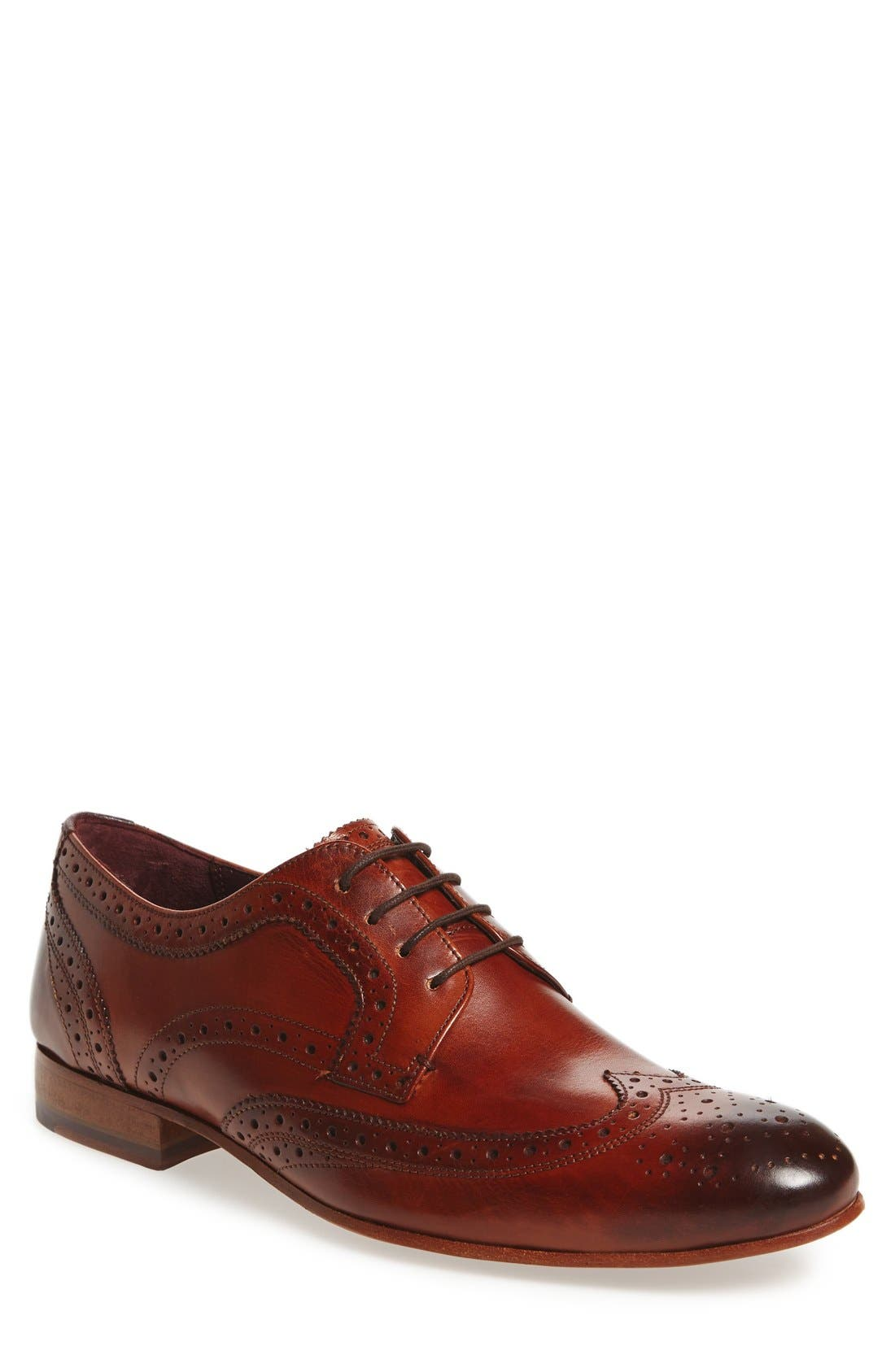 'Gryene' Wingtip Oxford,                             Main thumbnail 3, color,