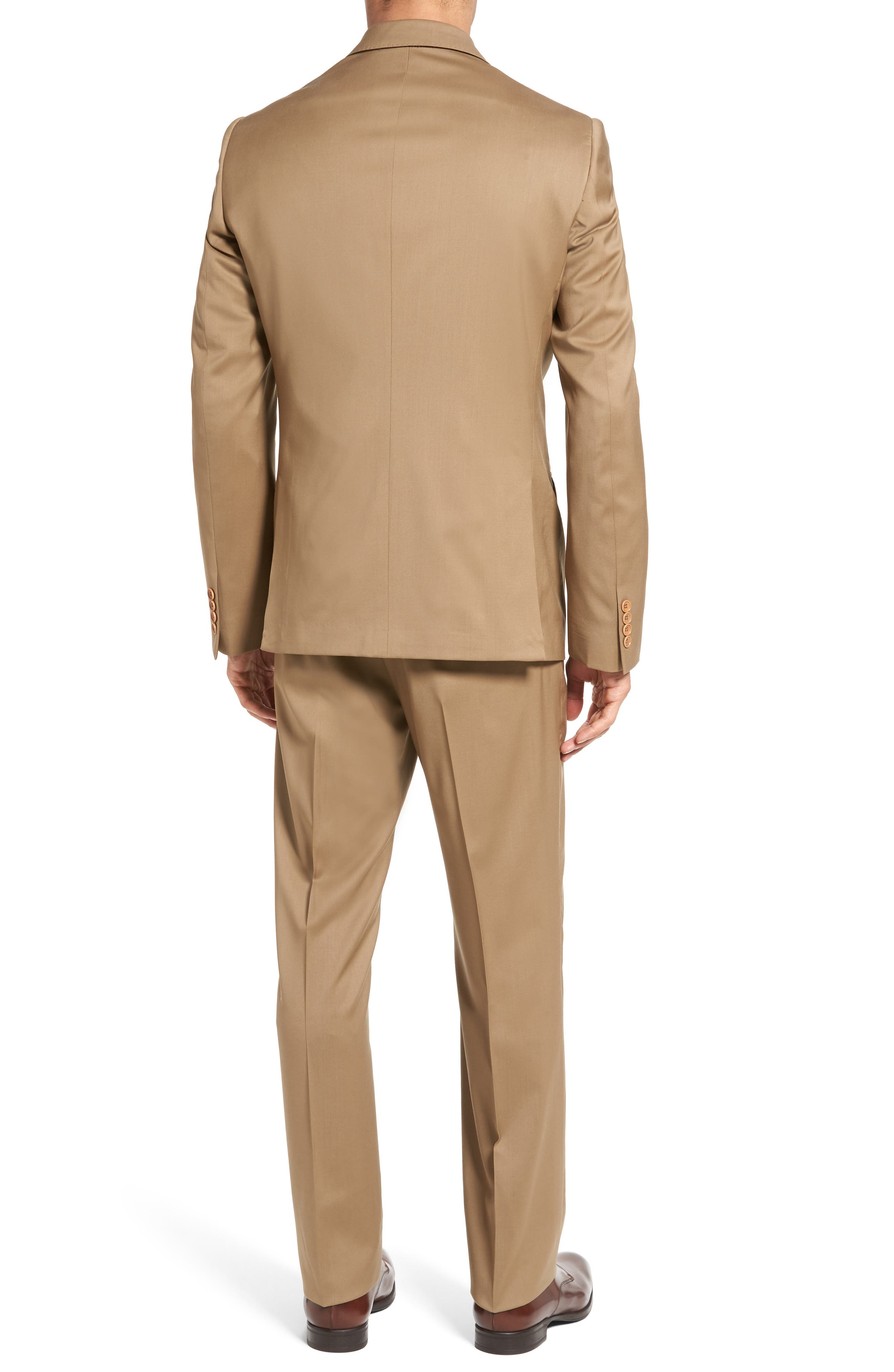 Classic Fit Solid Wool Suit,                             Alternate thumbnail 10, color,