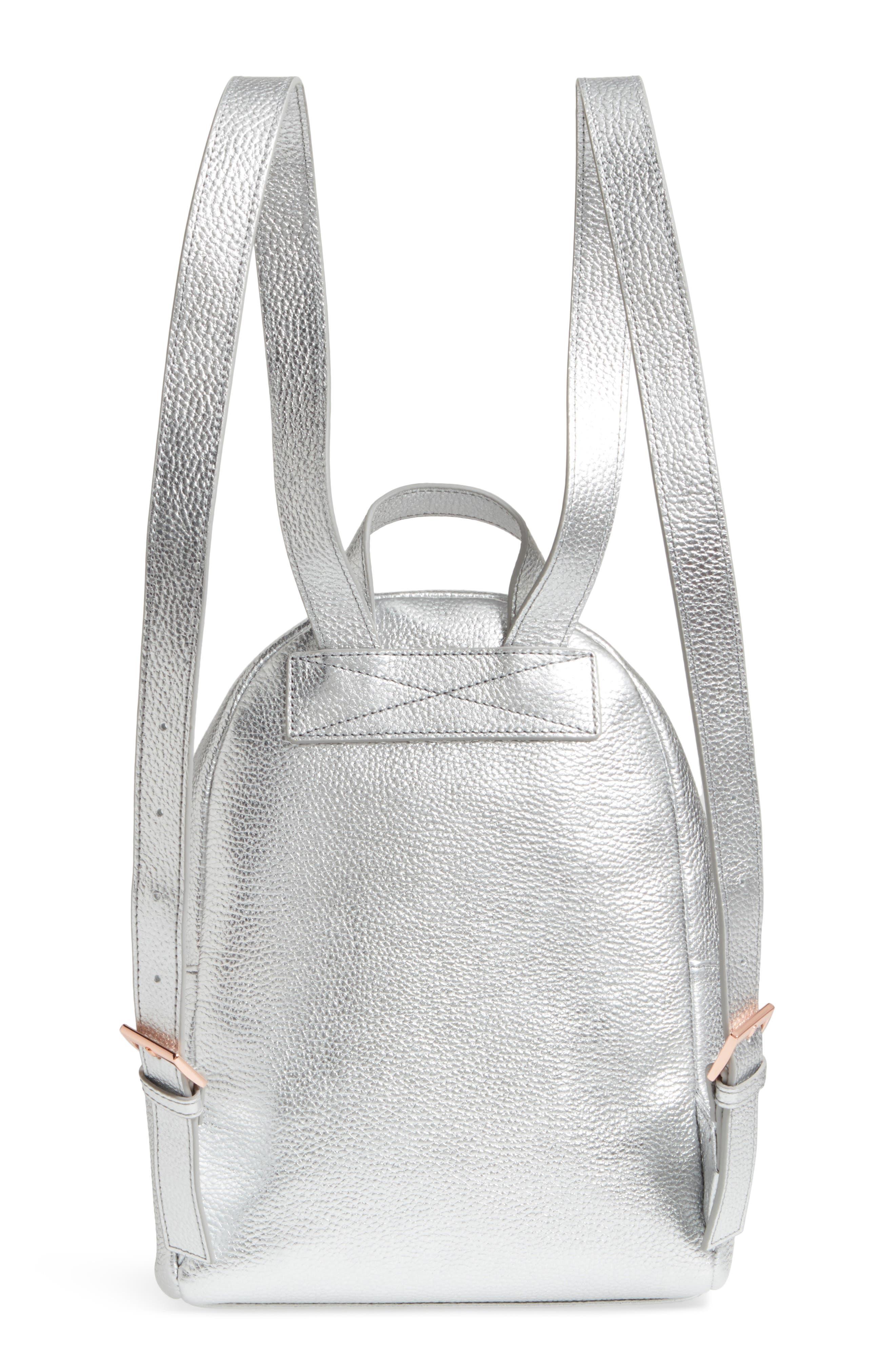 Pearen Leather Backpack,                             Alternate thumbnail 12, color,