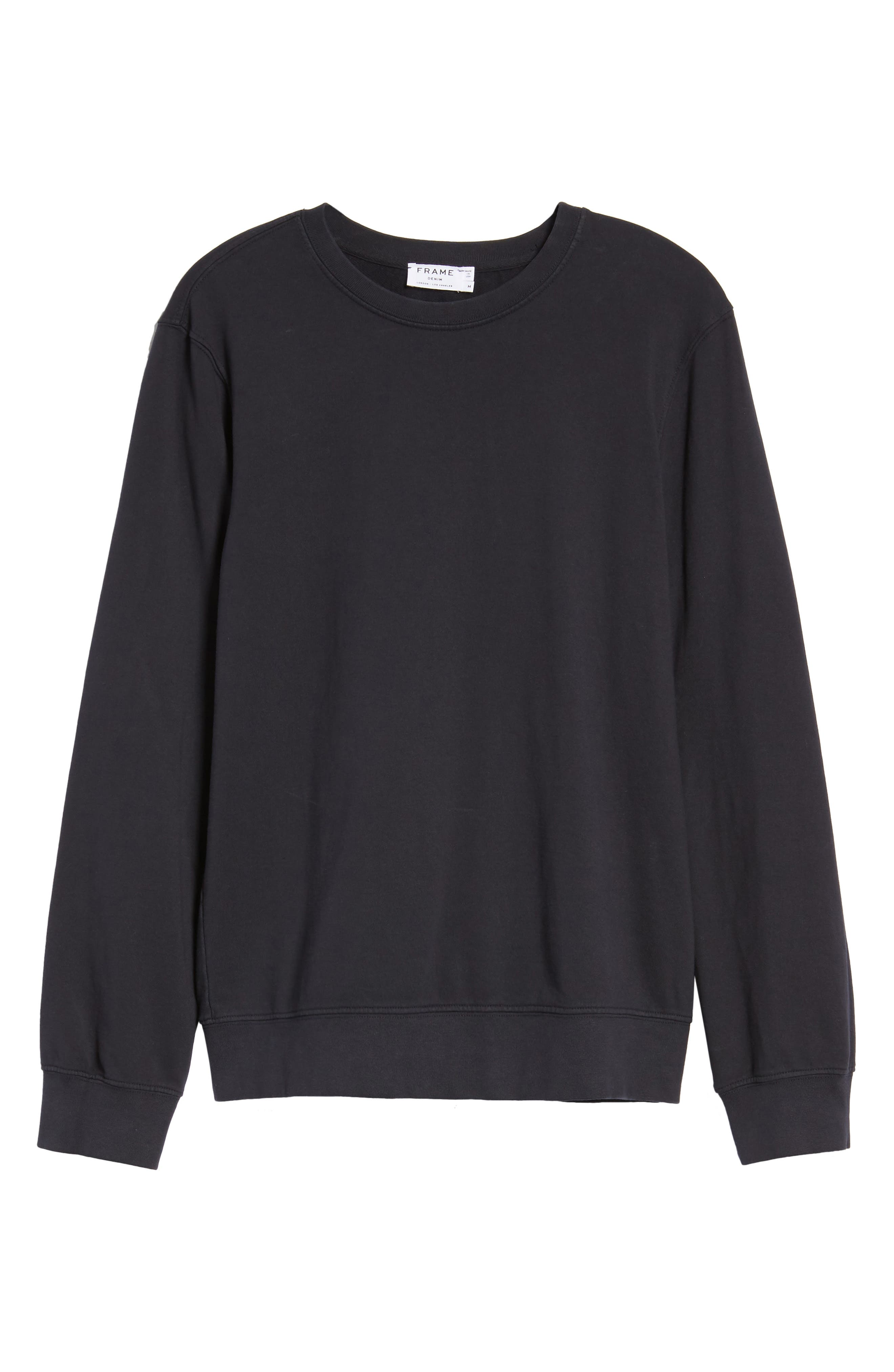 French Terry Sweatshirt,                             Alternate thumbnail 18, color,