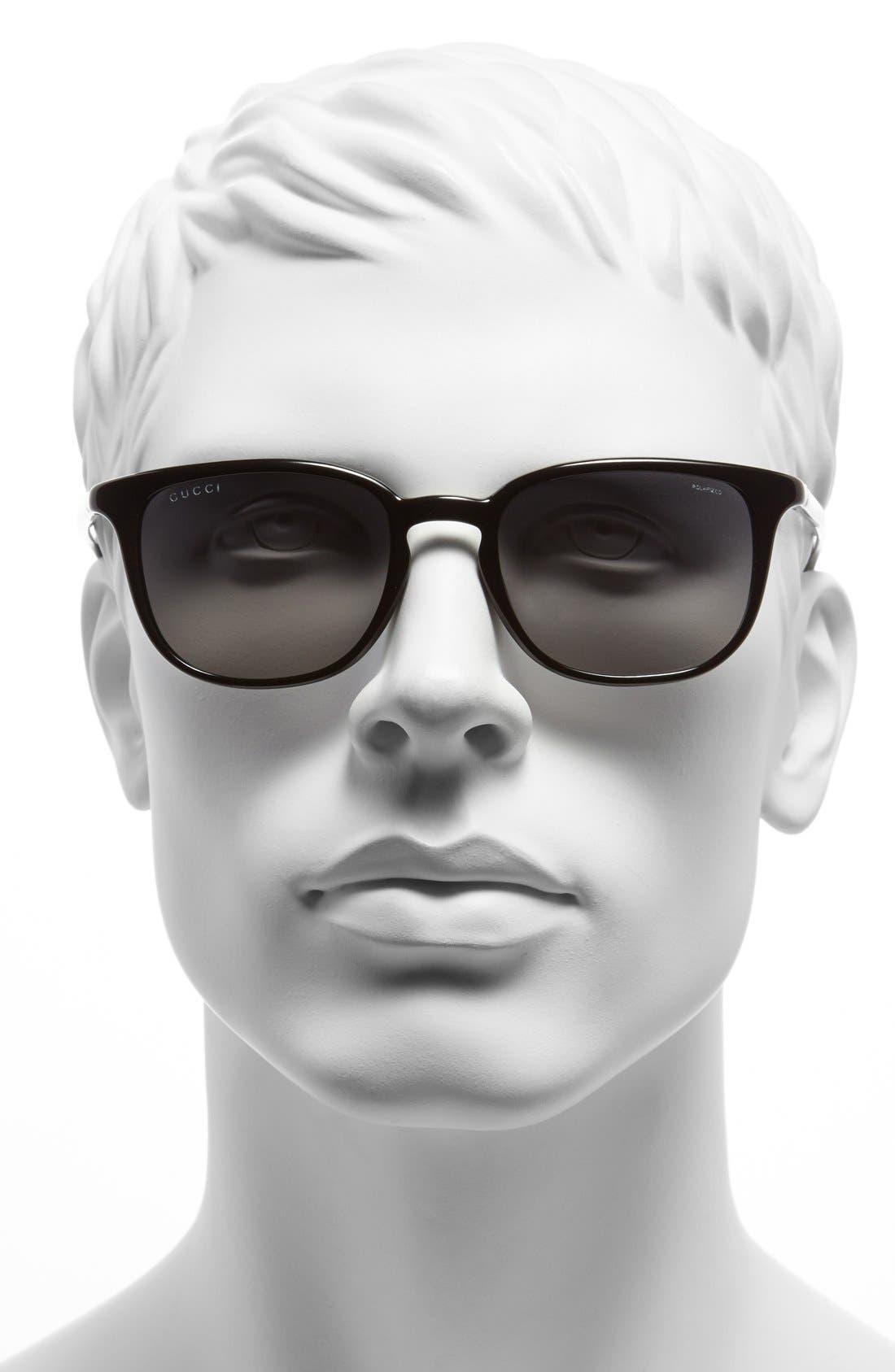 '1067S' 51mm Sunglasses,                             Alternate thumbnail 2, color,                             001