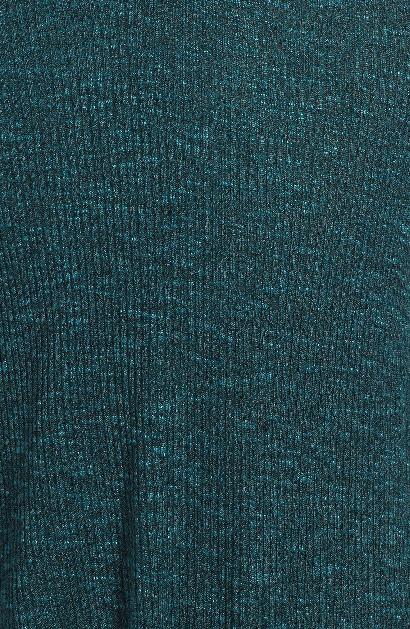 Rib Knit Sweater Dress,                             Alternate thumbnail 3, color,                             359