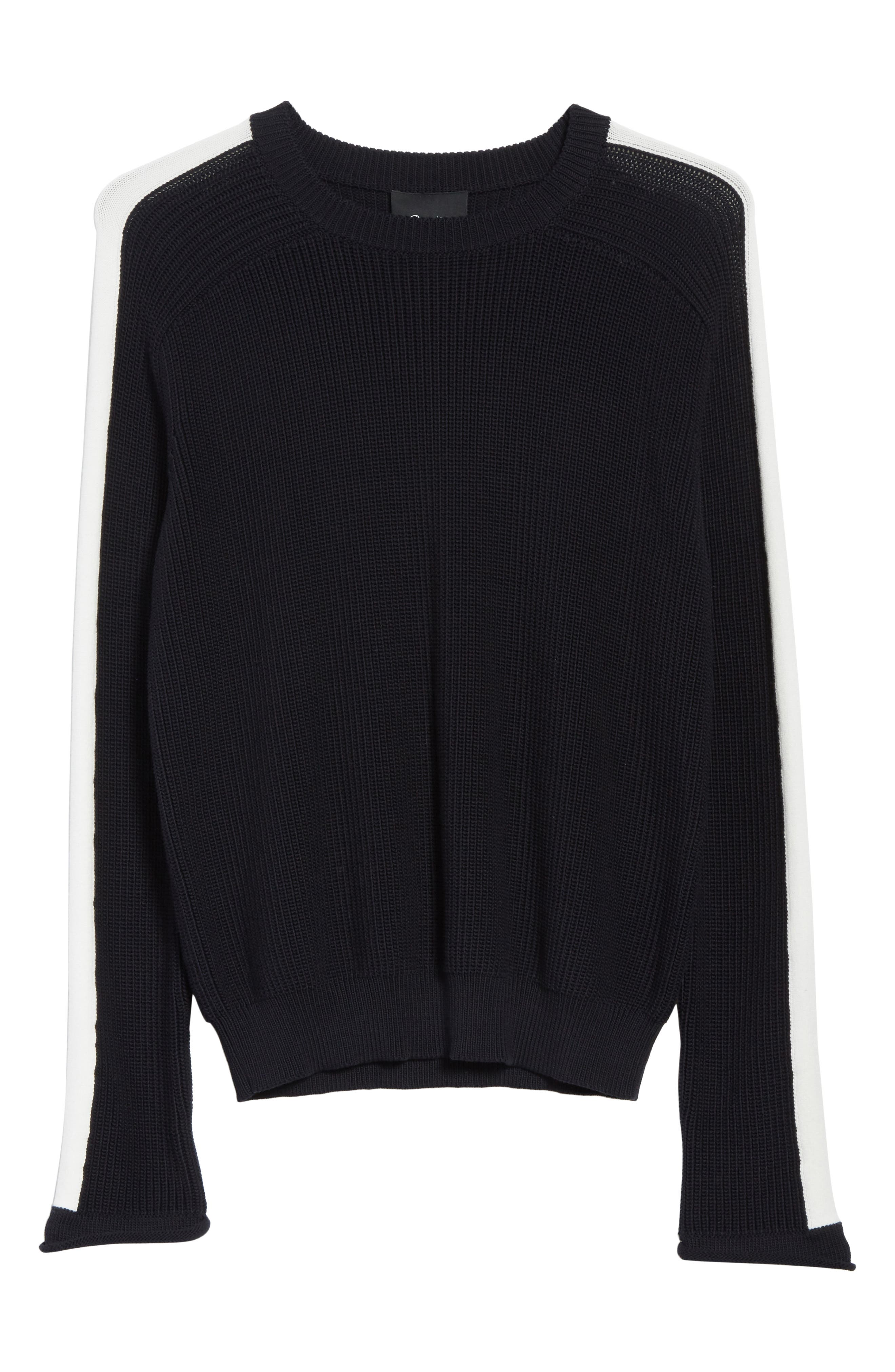 Ribbed Sweater,                             Alternate thumbnail 6, color,
