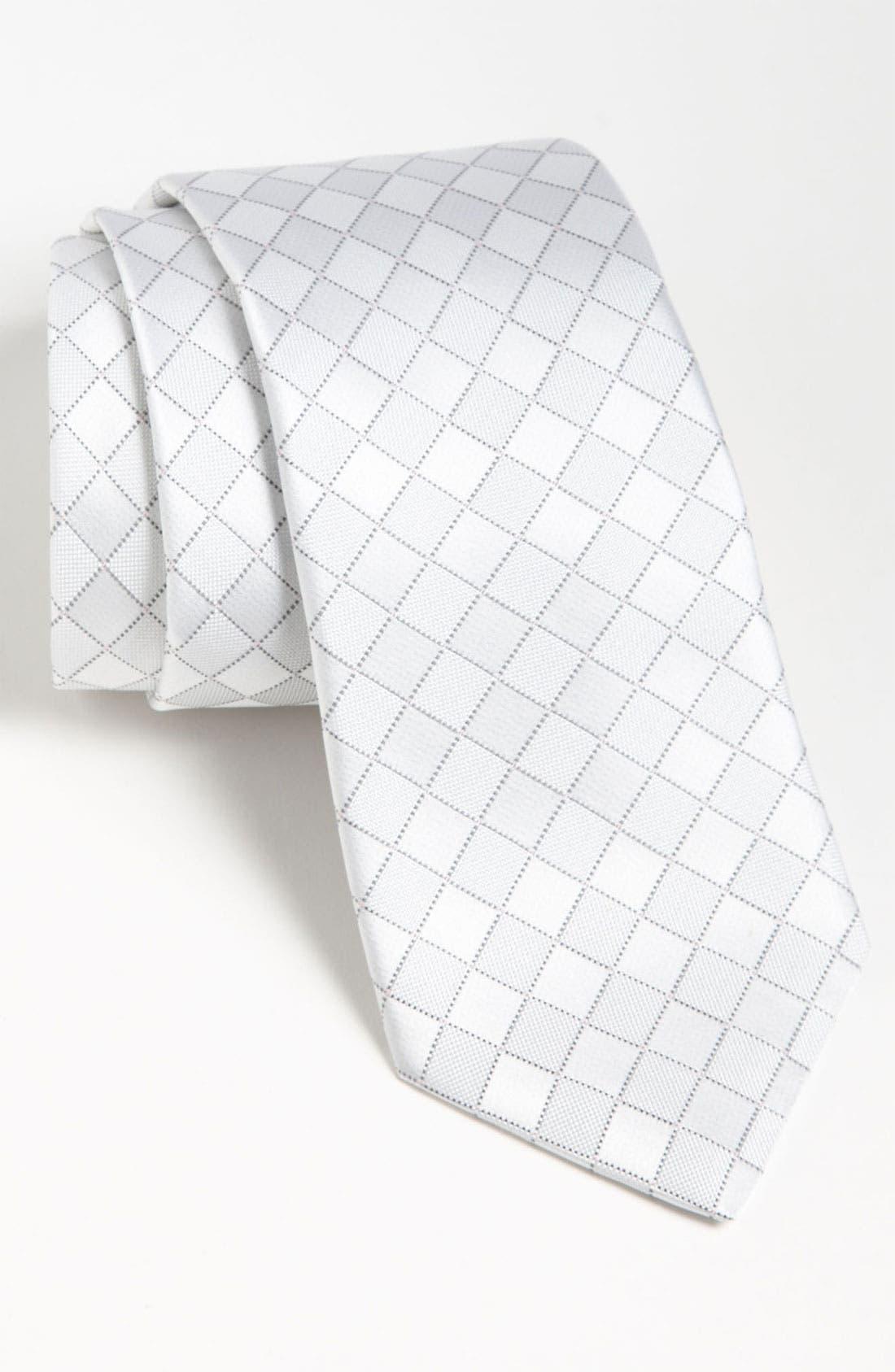 Woven Silk Tie,                             Main thumbnail 3, color,