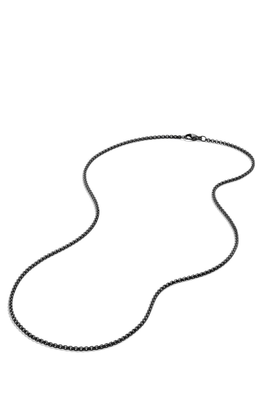 'Chain' Small Box Chain Necklace,                             Alternate thumbnail 2, color,                             042