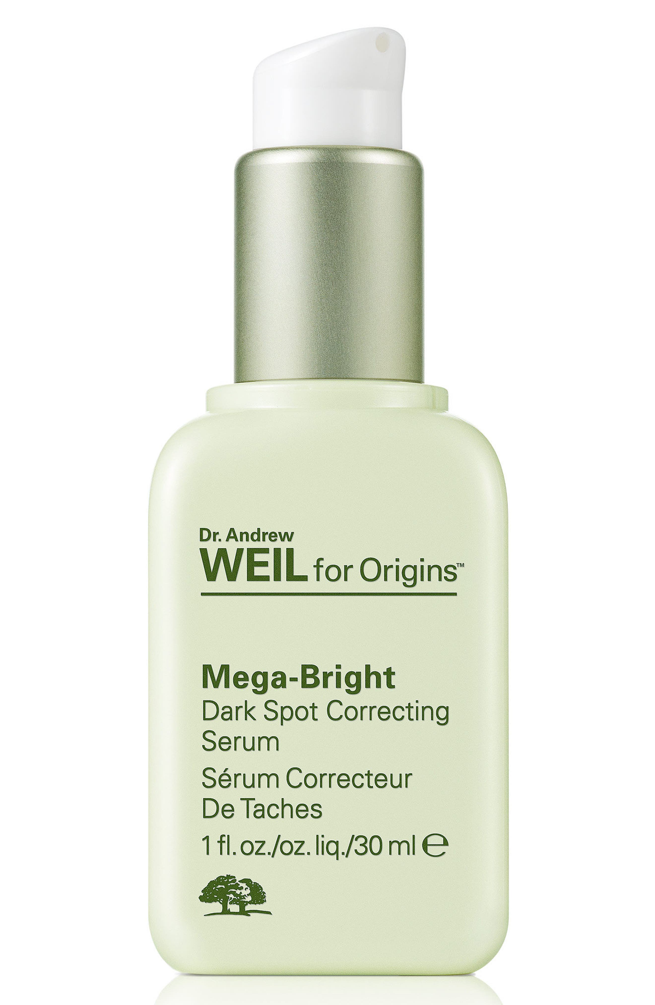 Dr. Andrew Weil for Origins<sup>™</sup> Mega-Bright Dark Spot Correction Serum,                             Alternate thumbnail 3, color,                             NO COLOR