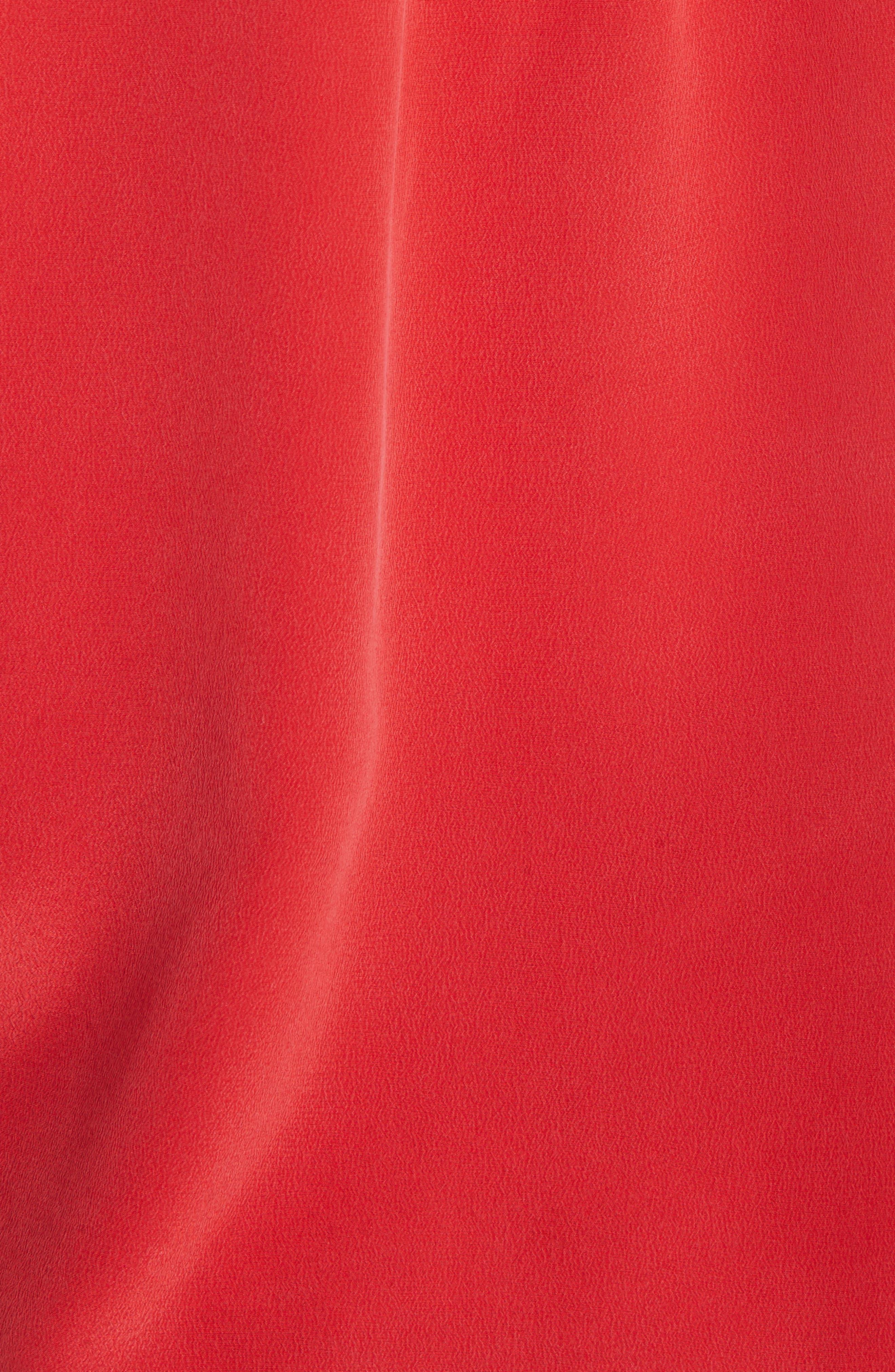 'Slim Signature' Sleeveless Silk Shirt,                             Alternate thumbnail 188, color,