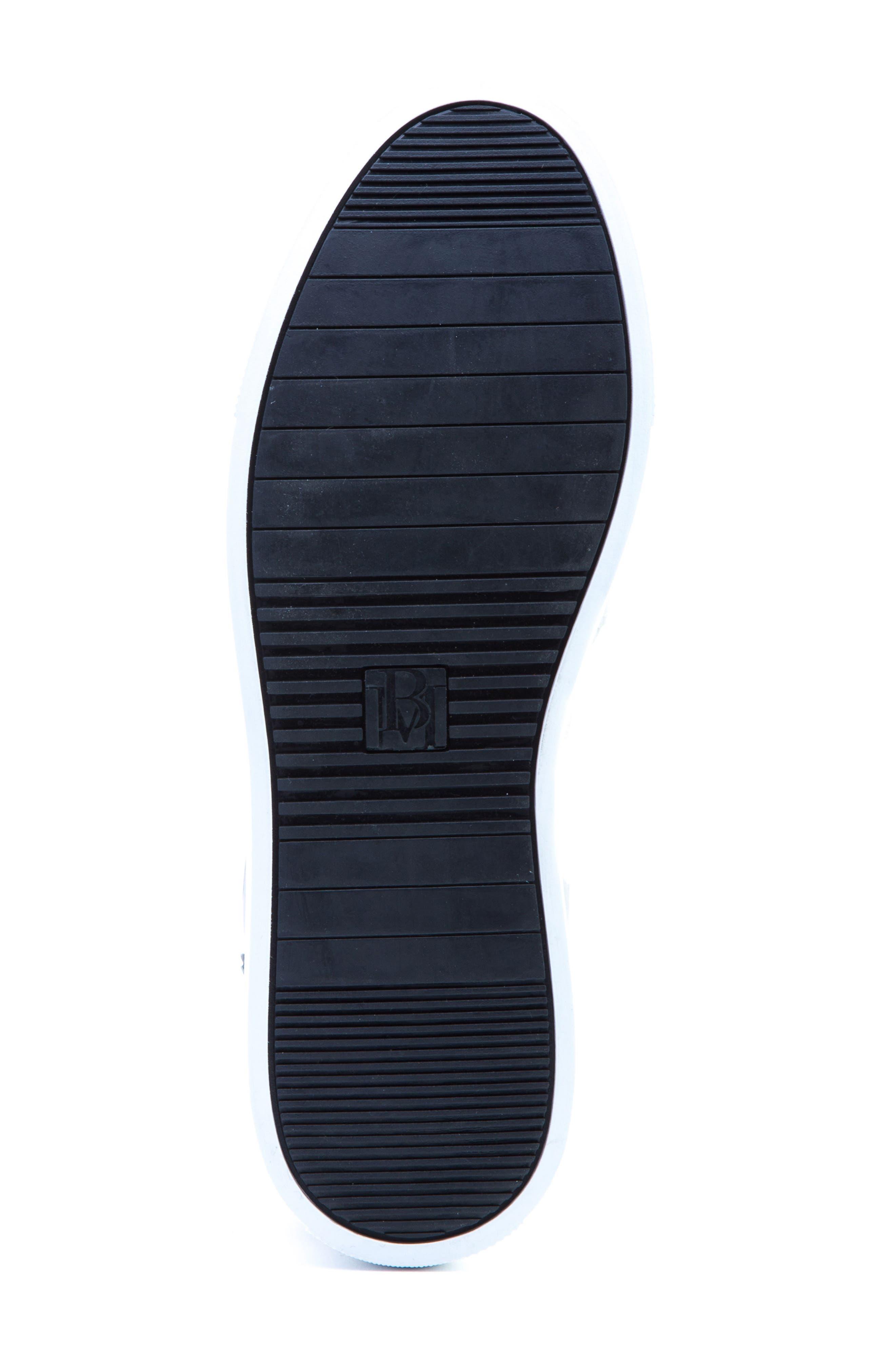 Grant Sneaker,                             Alternate thumbnail 6, color,                             BLACK LEATHER