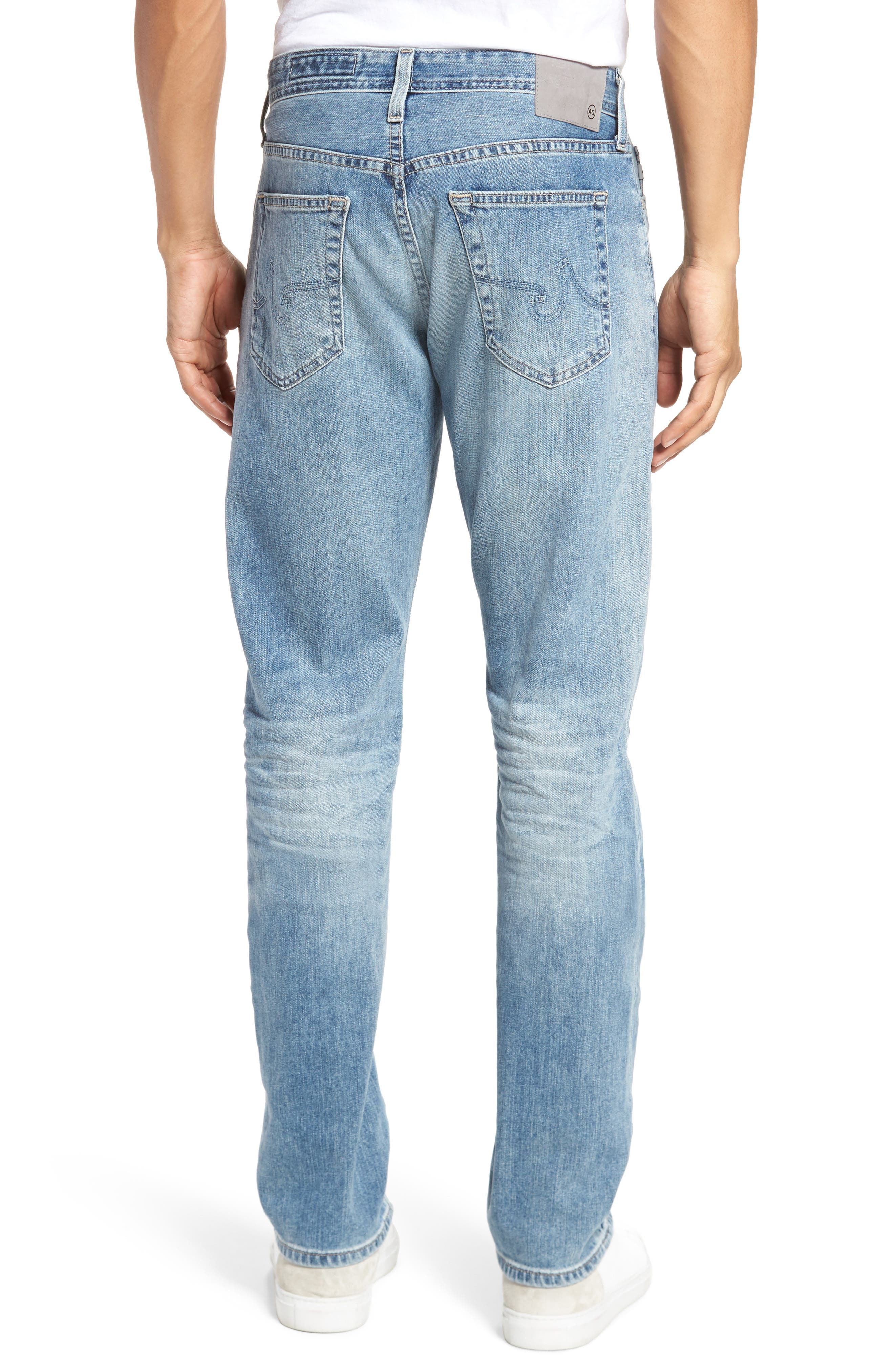 Everett Slim Straight Fit Jeans,                             Alternate thumbnail 2, color,                             452