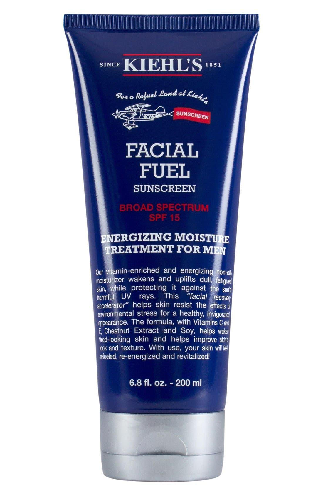 'Facial Fuel' SPF 15 Sunscreen,                             Main thumbnail 1, color,                             000