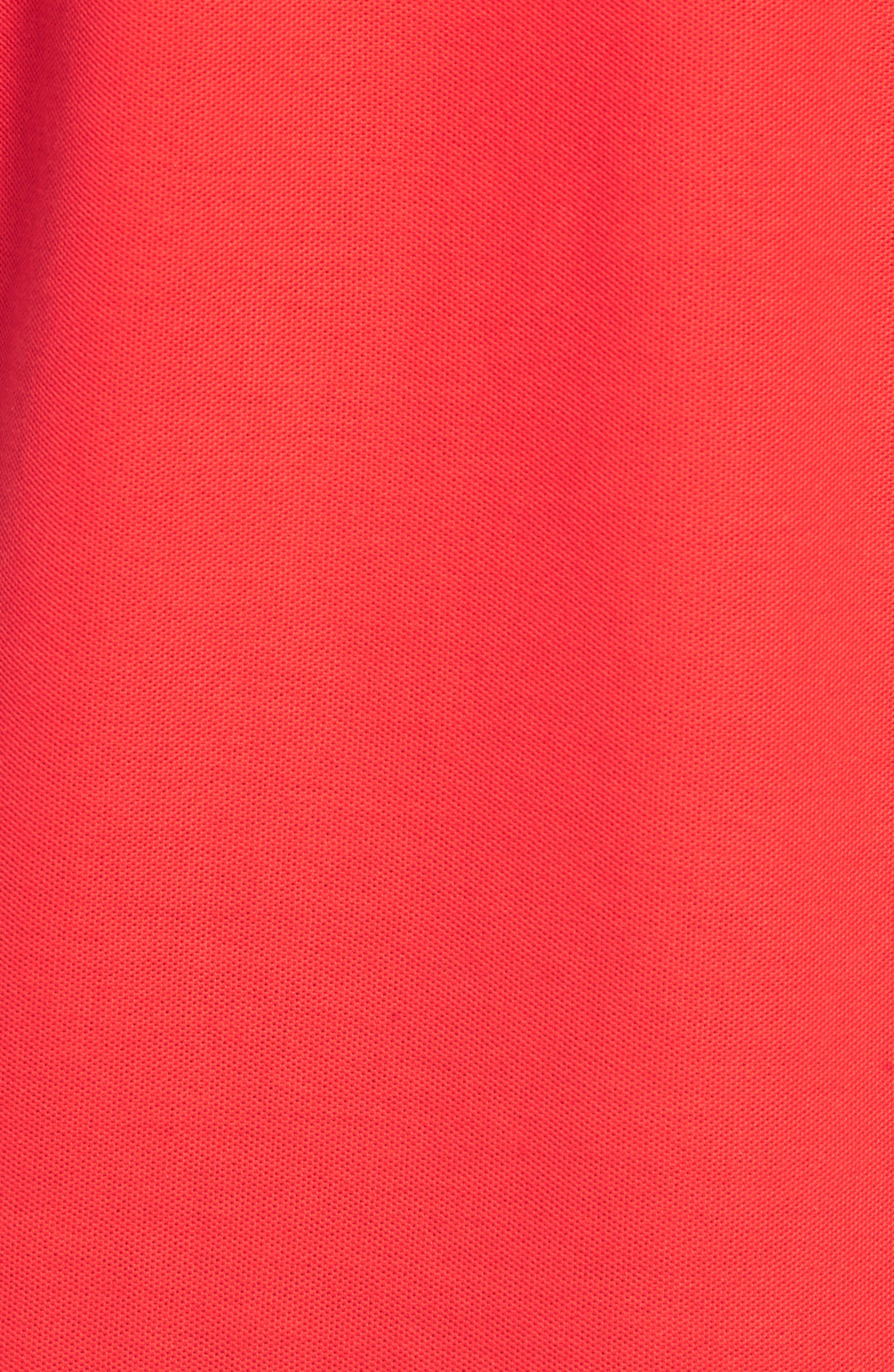 Devil Piqué Polo,                             Alternate thumbnail 5, color,                             RED