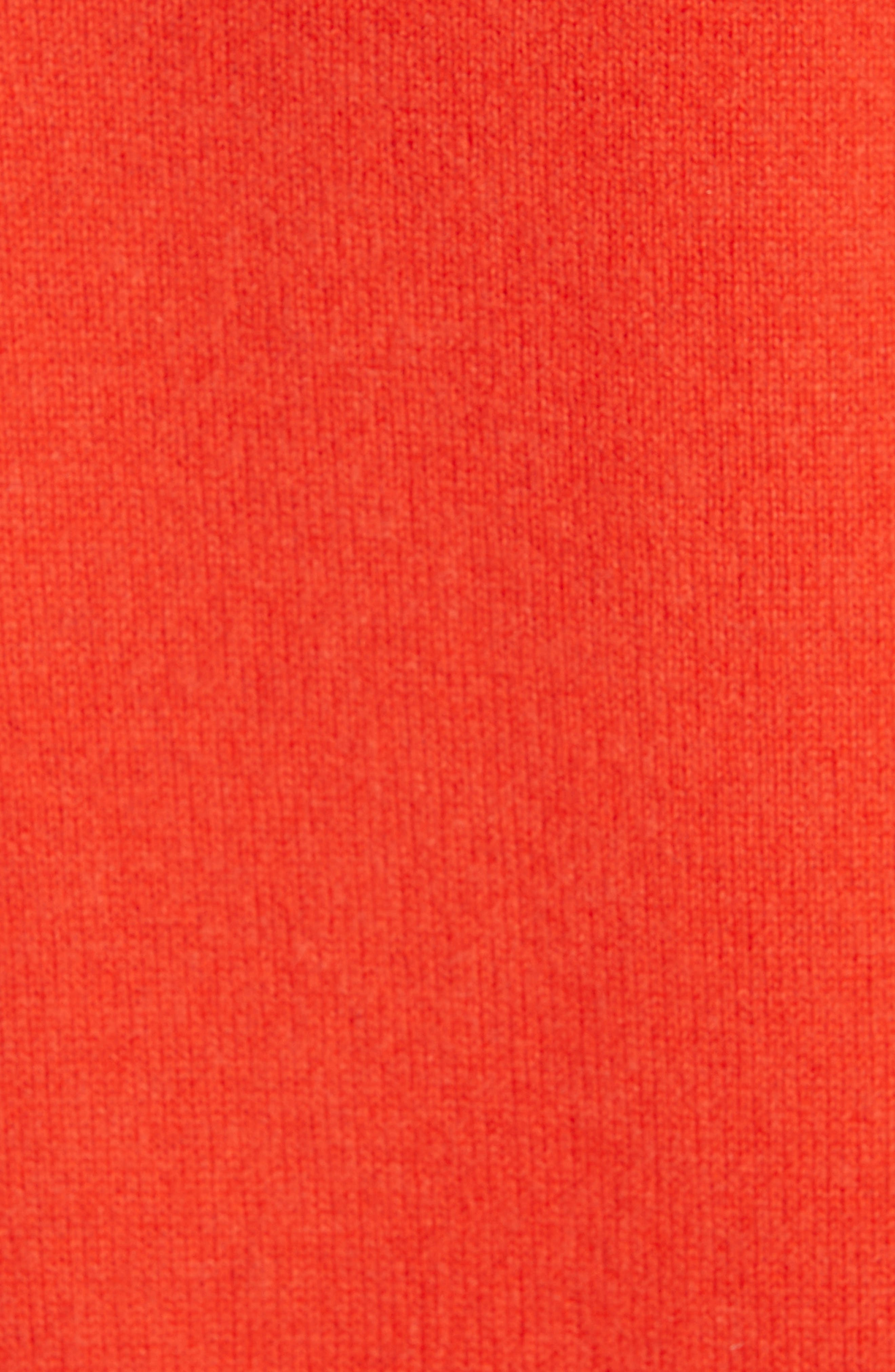 Yorke Cashmere Sweater,                             Alternate thumbnail 5, color,                             RED