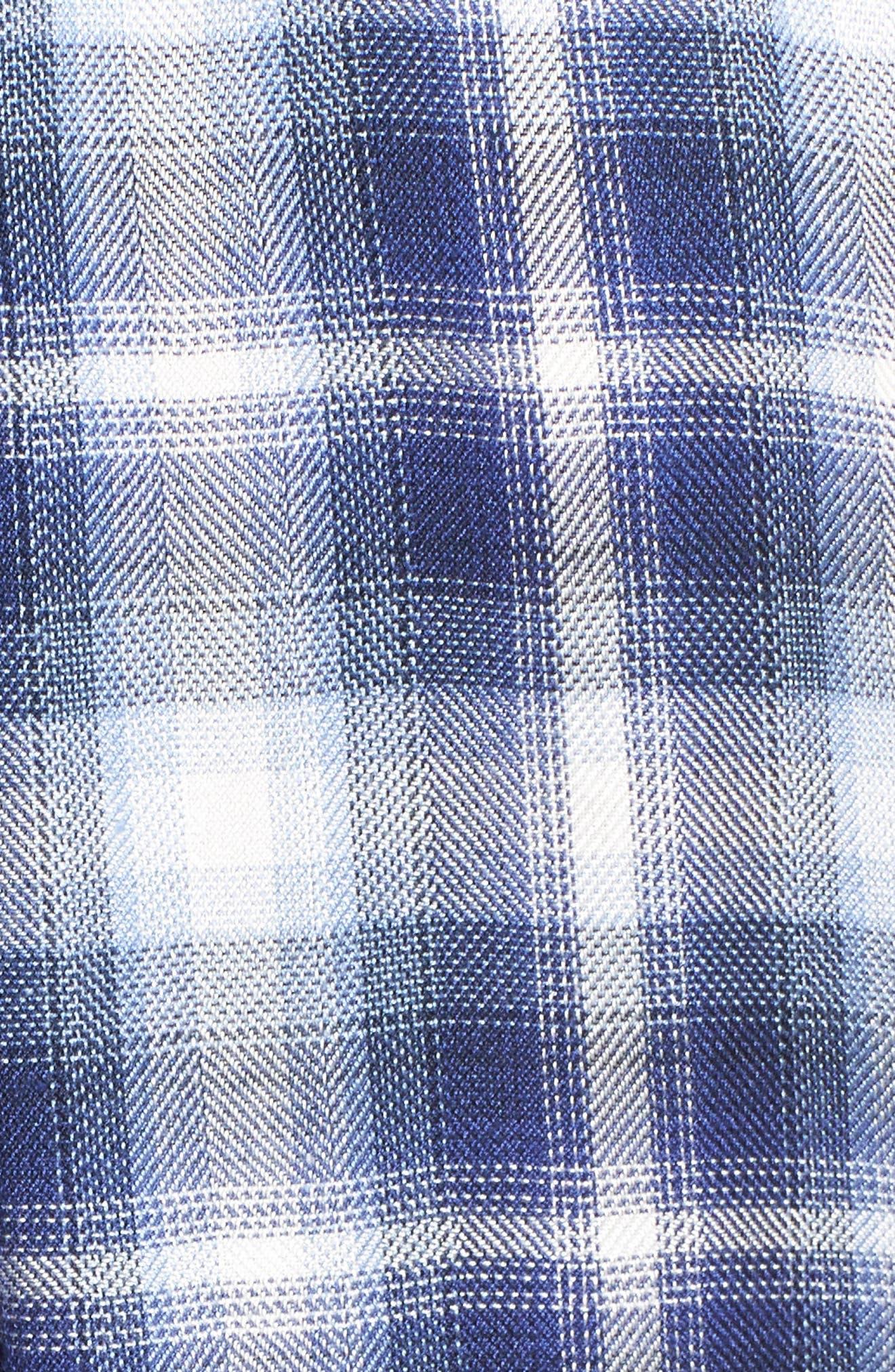 Hunter Plaid Shirt,                             Alternate thumbnail 656, color,