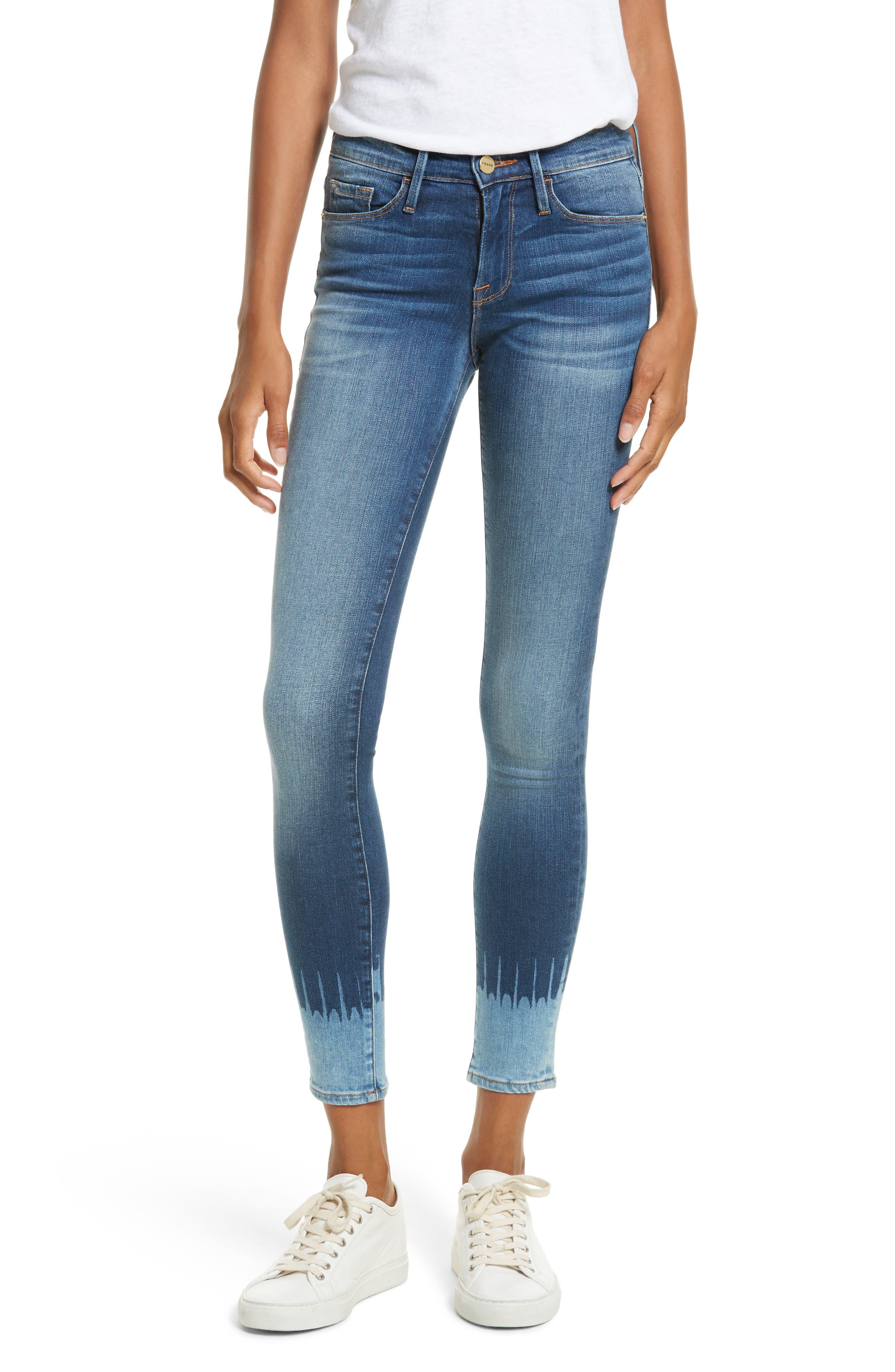 Le Skinny de Jeanne Jeans,                             Main thumbnail 1, color,                             420