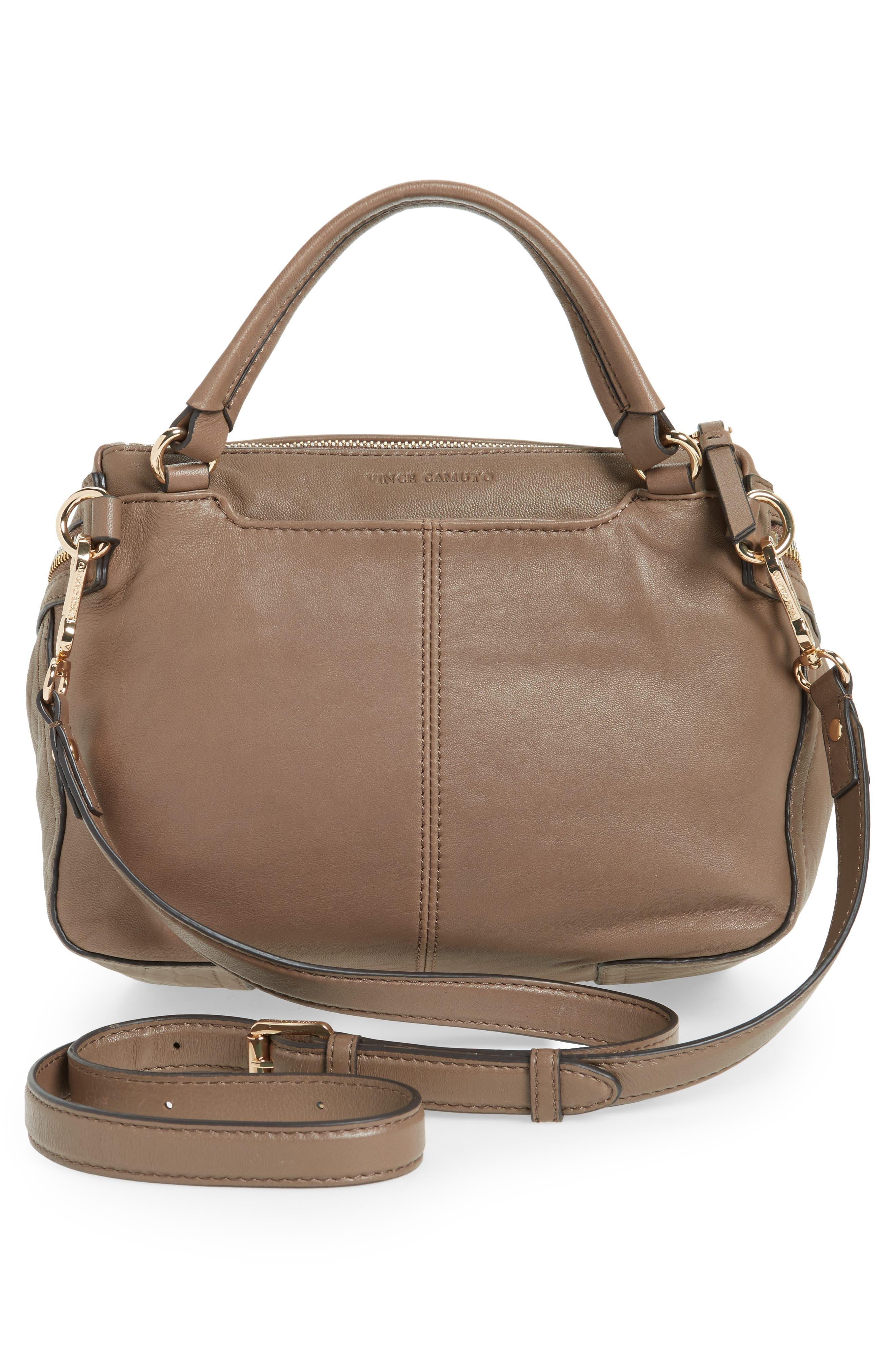 Medium Patch Leather Crossbody Bag,                             Alternate thumbnail 6, color,