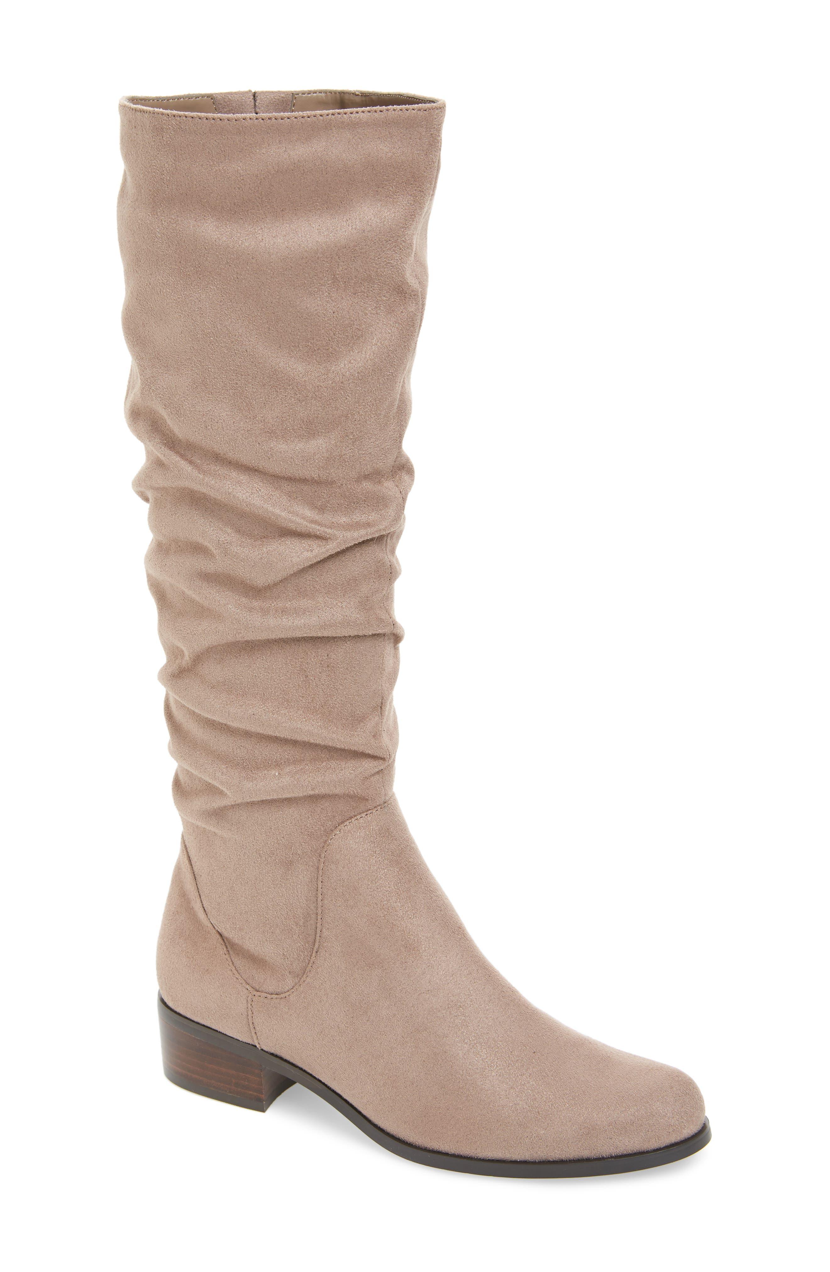 Charles By Charles David Guru Slouchy Knee High Boot, Grey