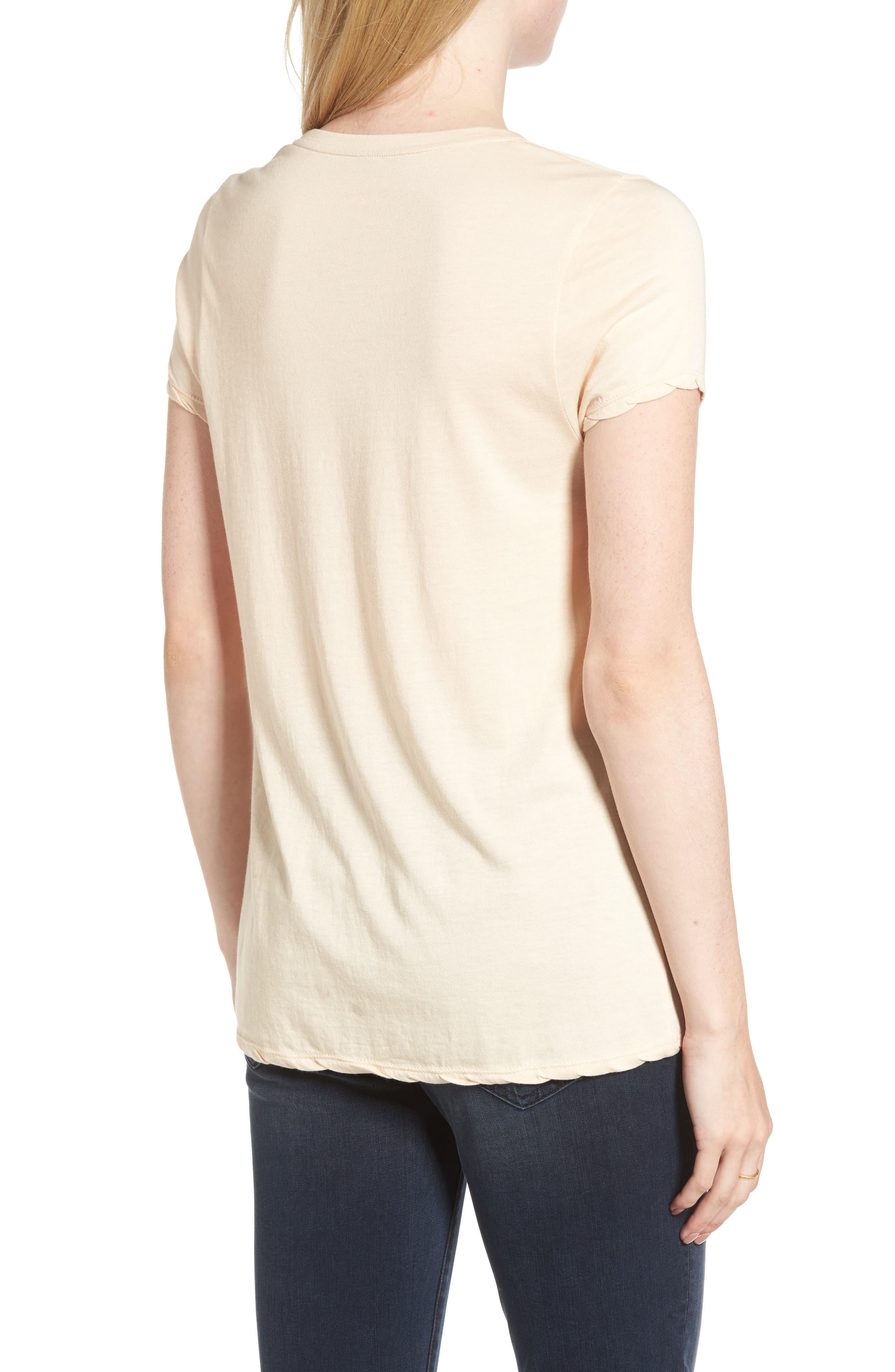 Happy Graphic Tee,                             Alternate thumbnail 2, color,                             951