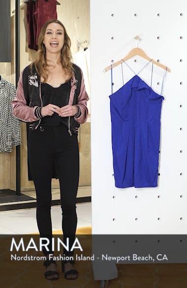 Frill Jacquard Minidress, sales video thumbnail