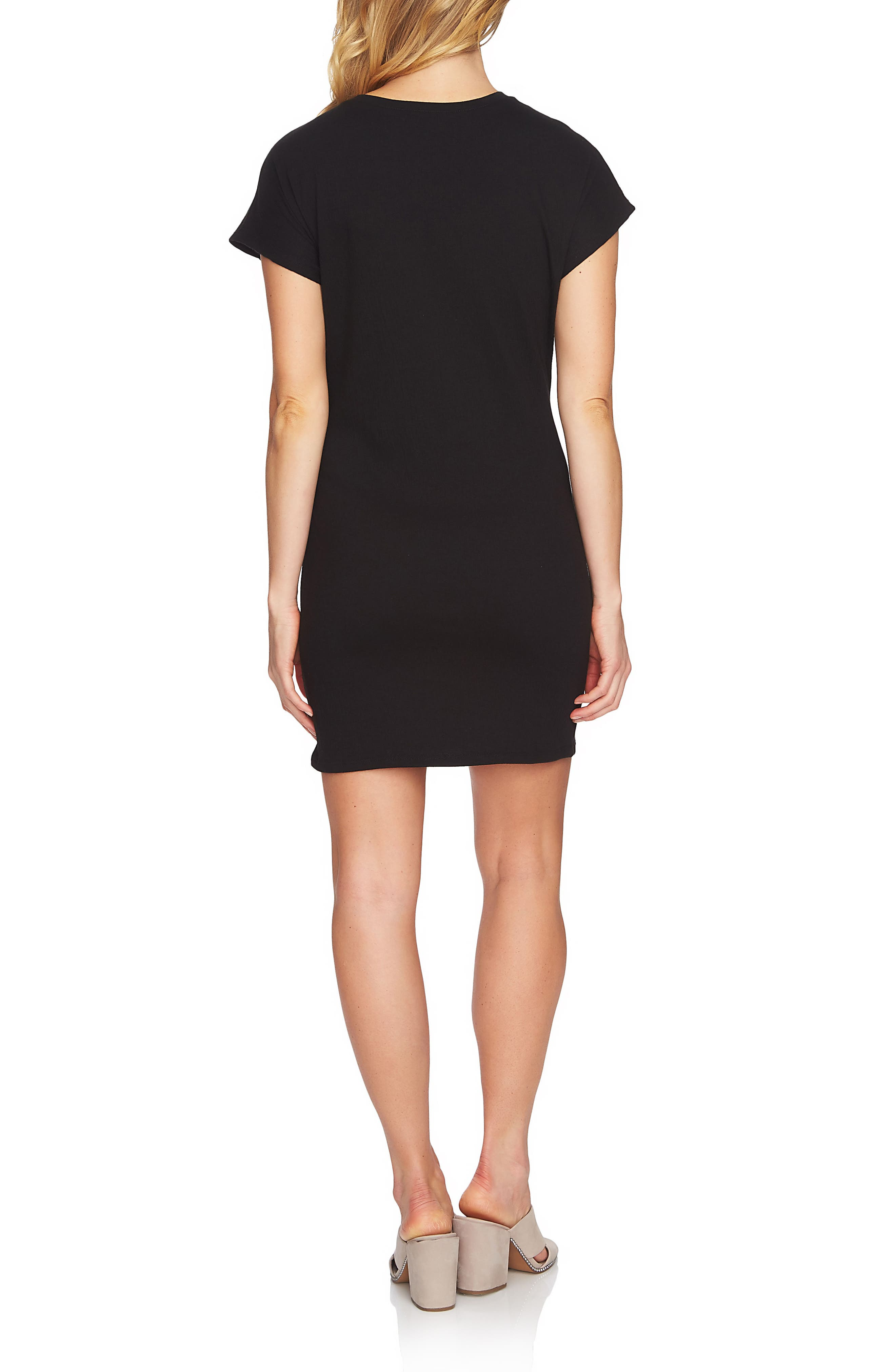 Twist Body-Con Dress,                             Alternate thumbnail 2, color,                             006
