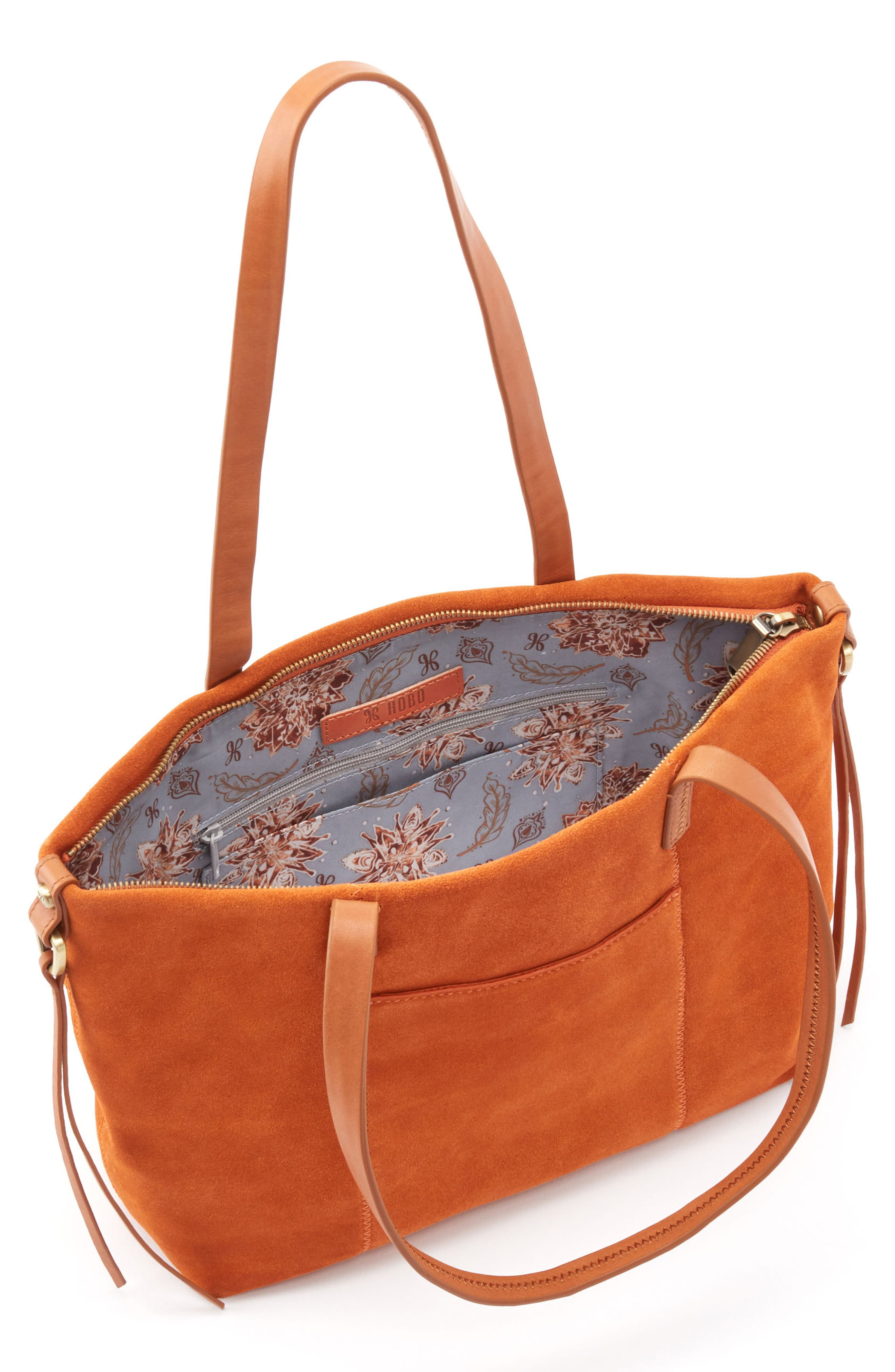 Cecily Leather Tote,                             Alternate thumbnail 11, color,
