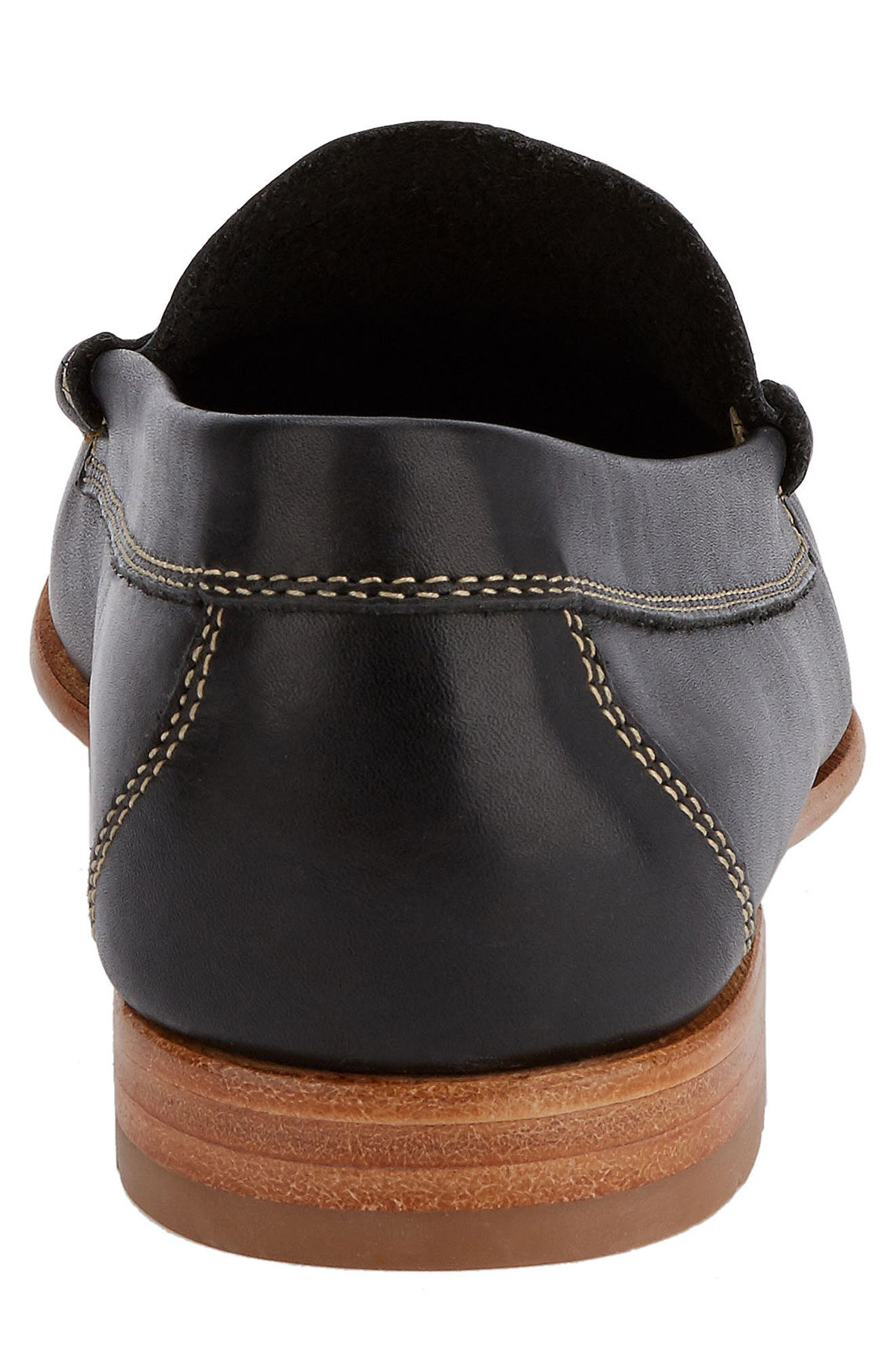 Weejuns Lambert Penny Loafer,                             Alternate thumbnail 6, color,                             001
