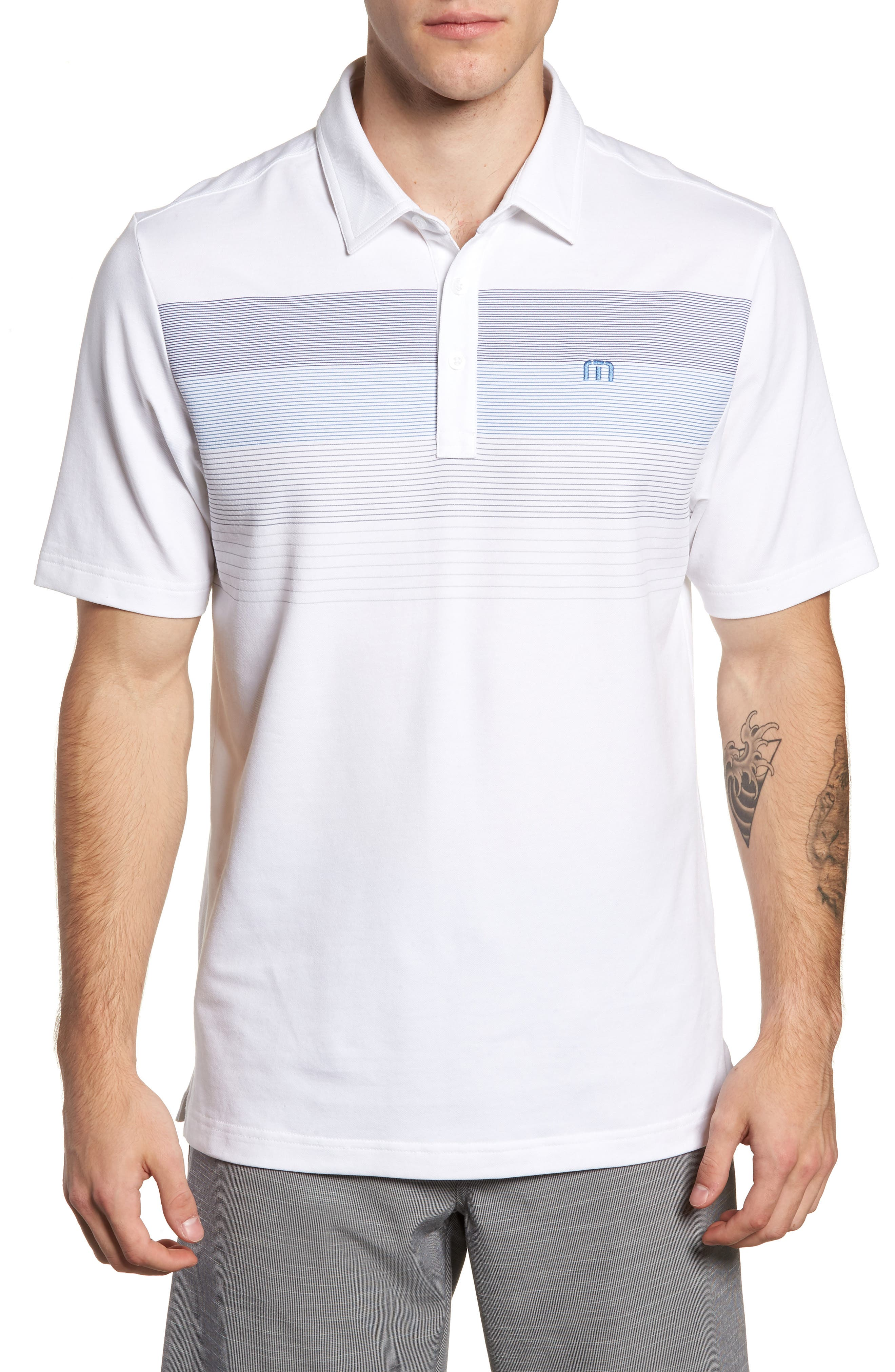 Open to Buy Regular Fit Polo,                             Main thumbnail 1, color,                             100