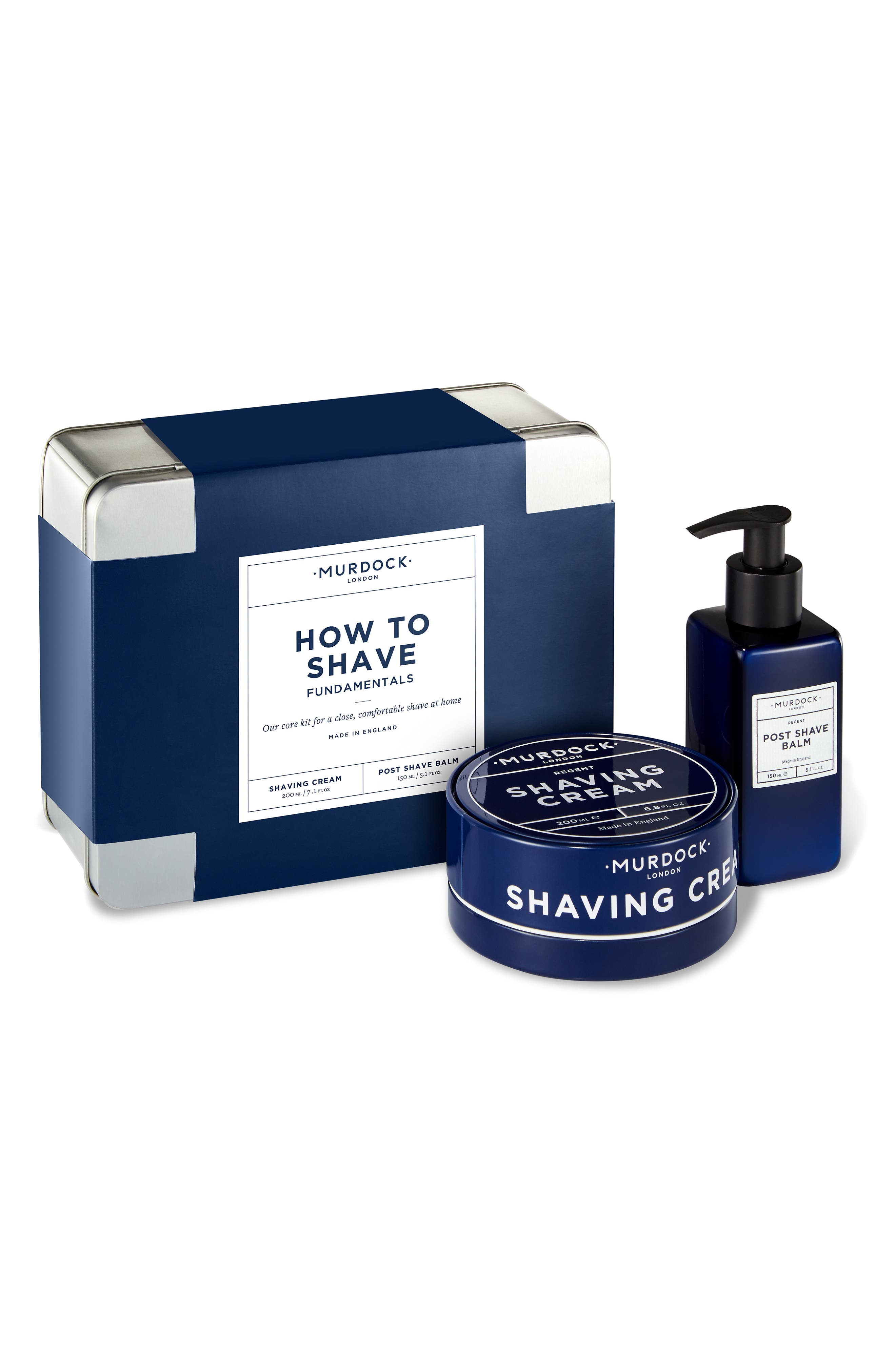 How to Shave Fundamentals Kit,                         Main,                         color, NO COLOR