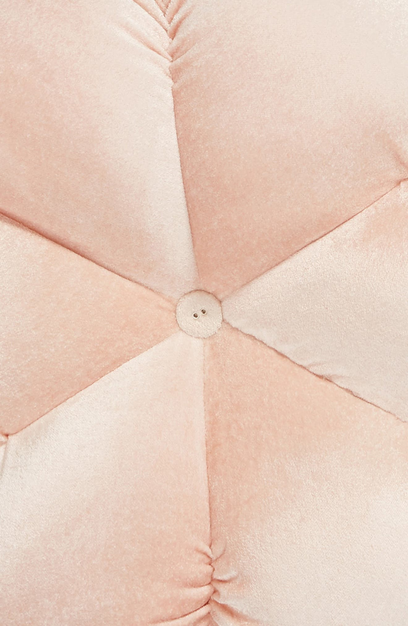 Flower Shaped Accent Pillow,                             Alternate thumbnail 3, color,                             PINK HERO