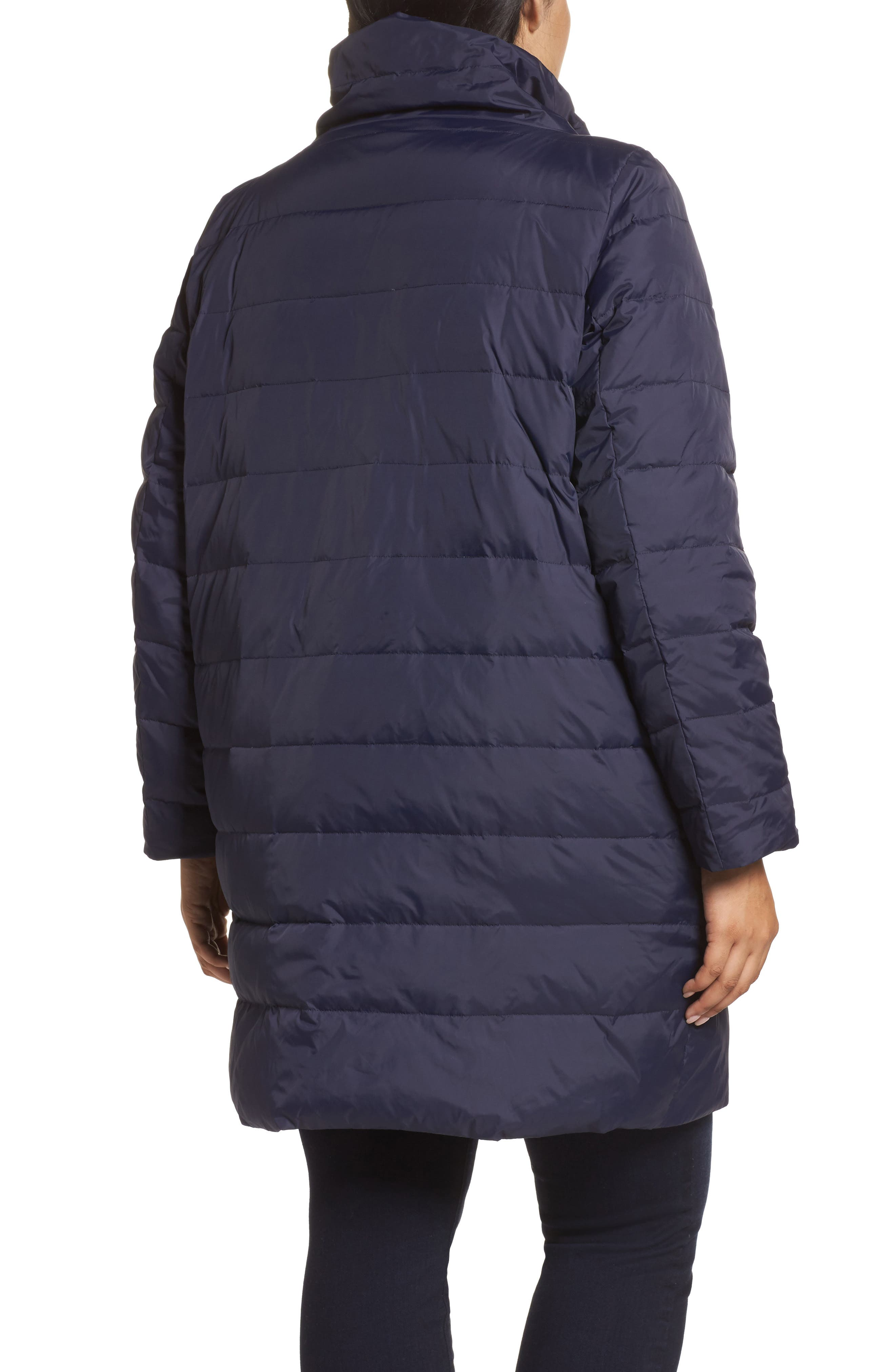 Down Puffer Coat,                             Alternate thumbnail 4, color,