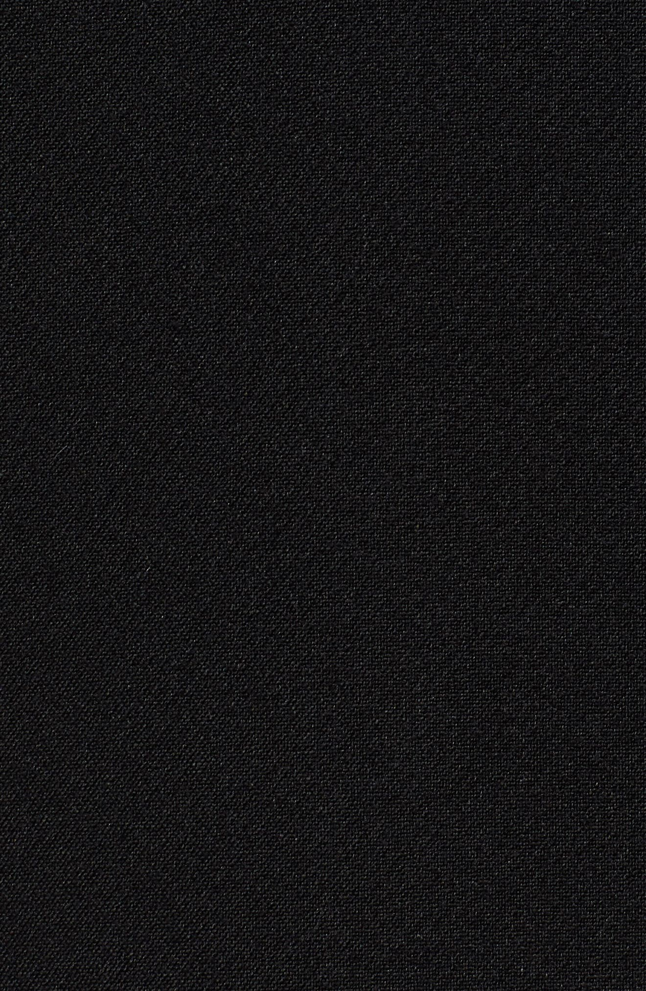 Slouchy Narrow Lapel Blazer,                             Alternate thumbnail 8, color,                             BLACK