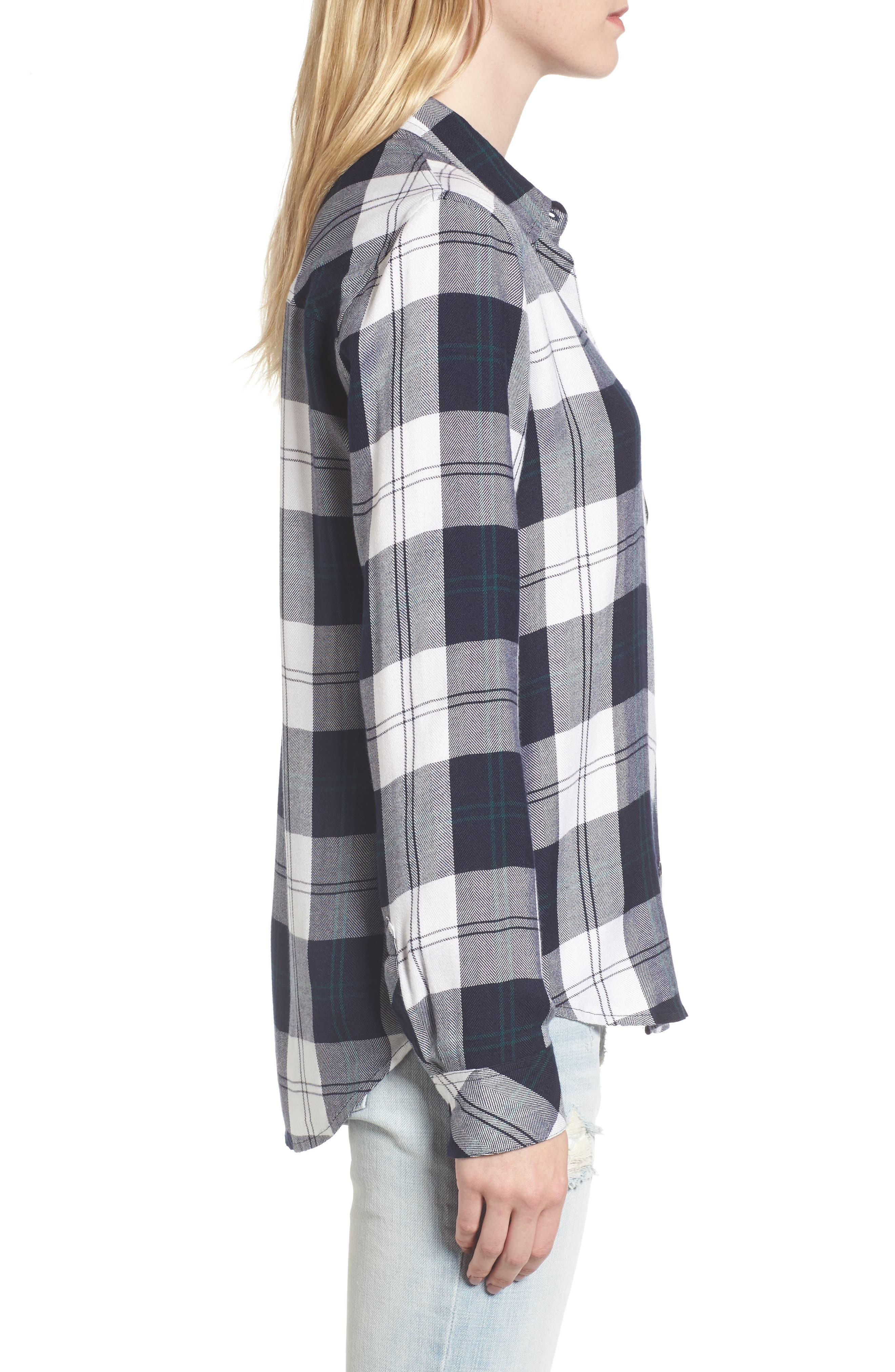 Hunter Plaid Shirt,                             Alternate thumbnail 283, color,