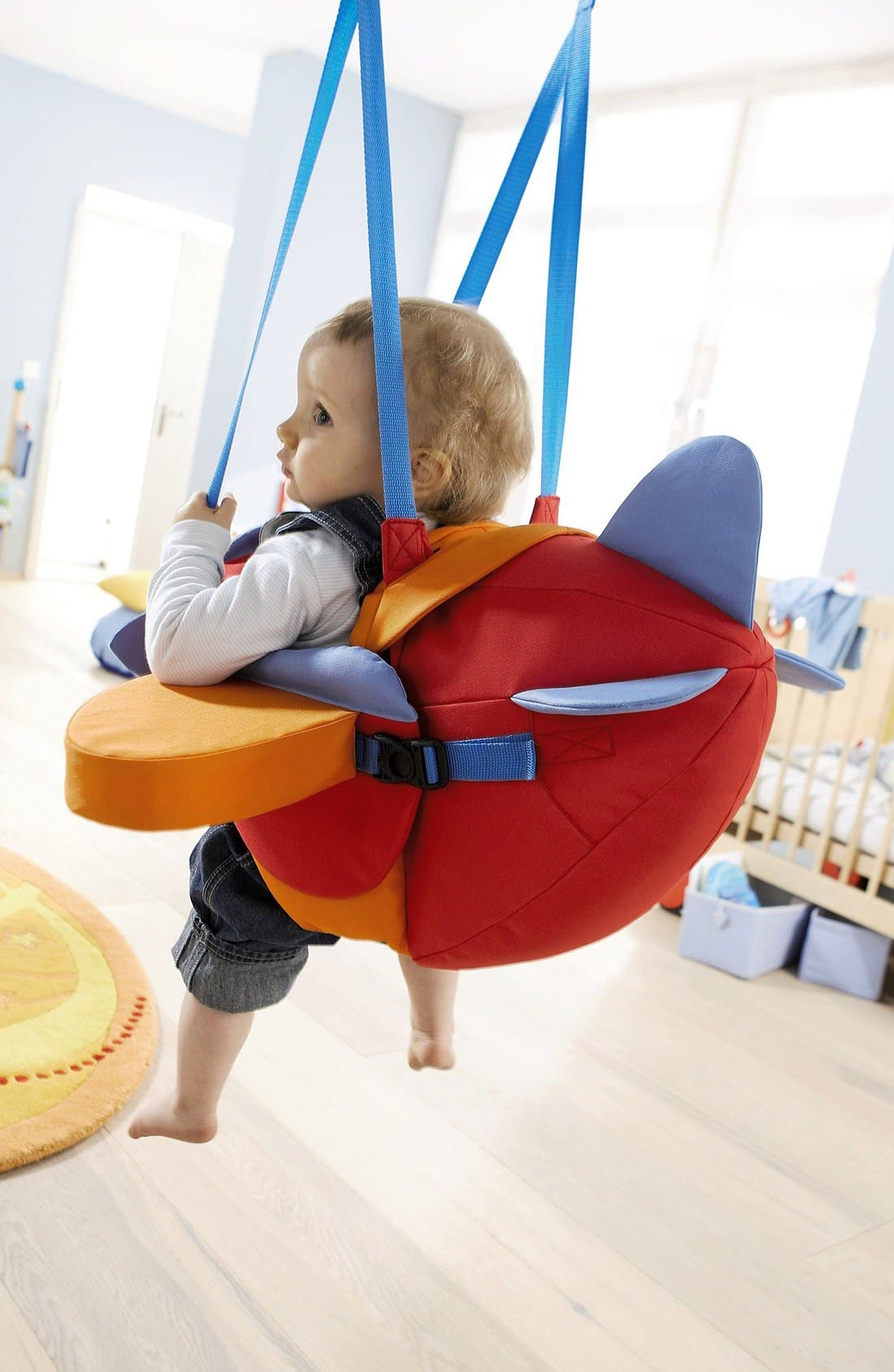 Aircraft Baby Swing,                             Alternate thumbnail 5, color,