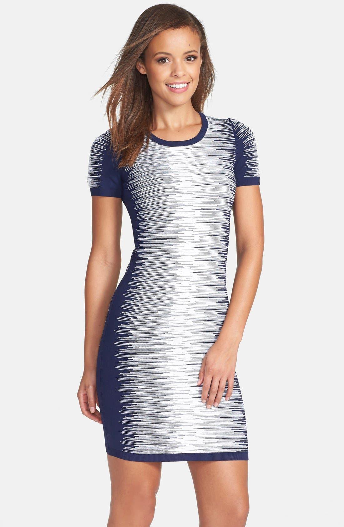 'Danni' Degrade Sweater Dress,                             Alternate thumbnail 2, color,                             433