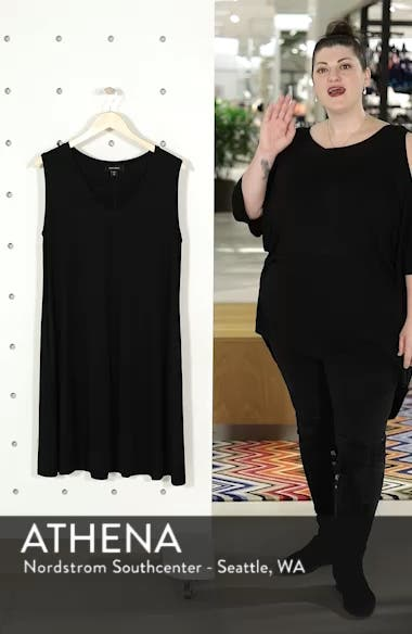 Sleeveless Pocket Jersey Dress, sales video thumbnail