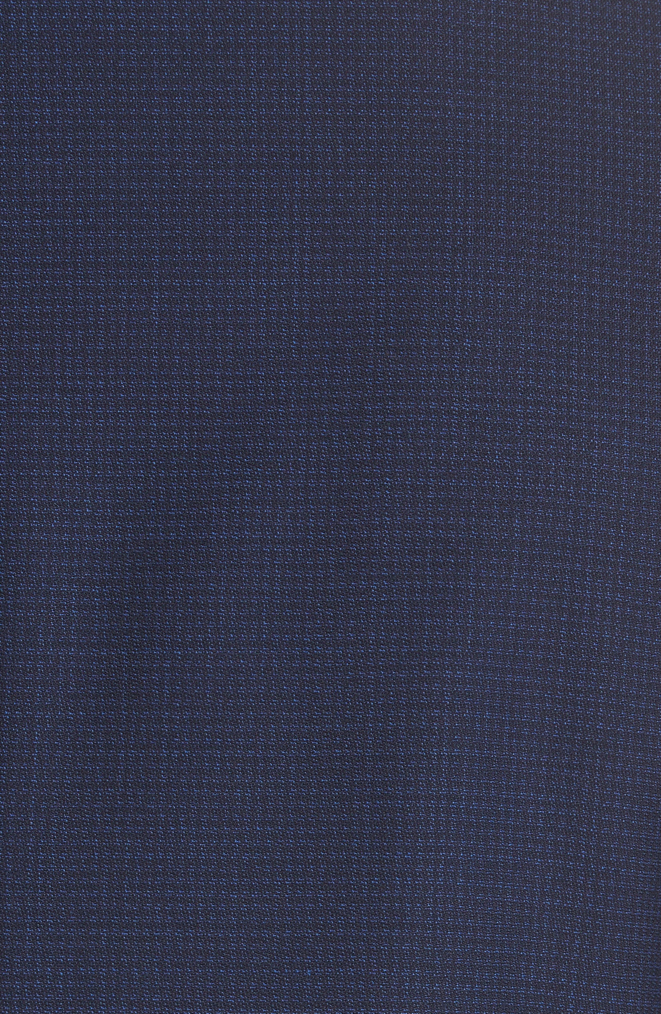 CANALI,                             Classic Fit Check Wool Suit,                             Alternate thumbnail 6, color,                             400