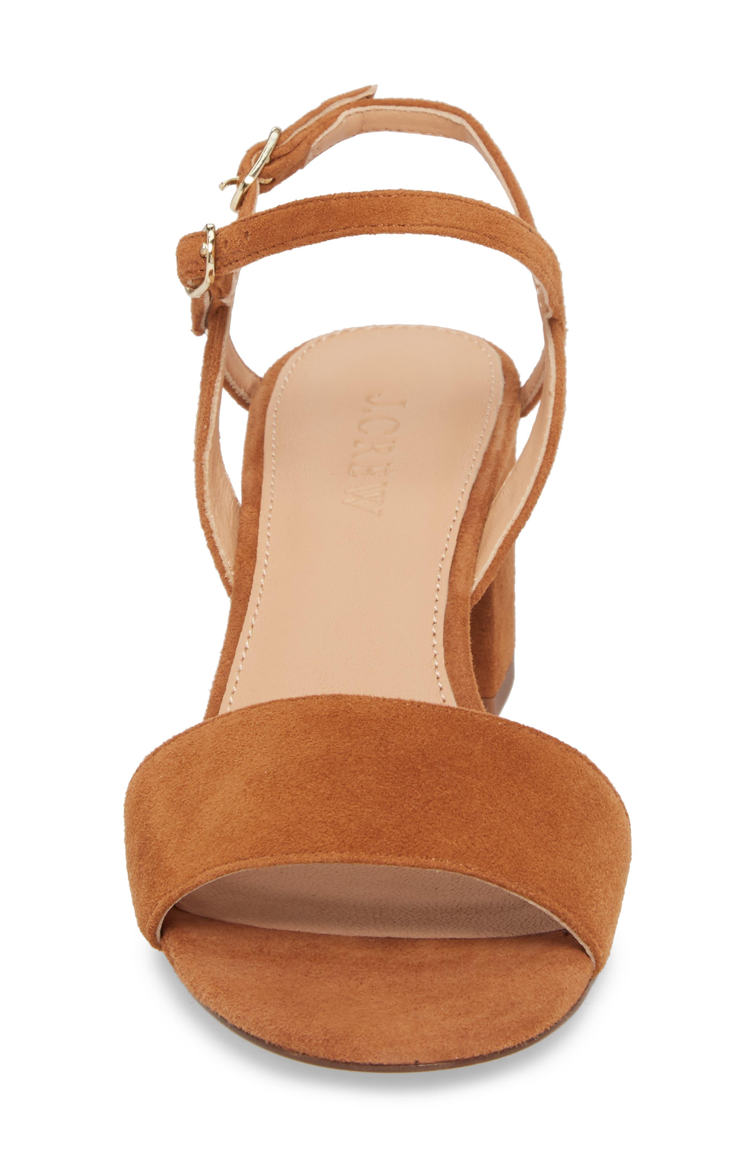 Strappy Block Heel Sandal,                             Alternate thumbnail 10, color,
