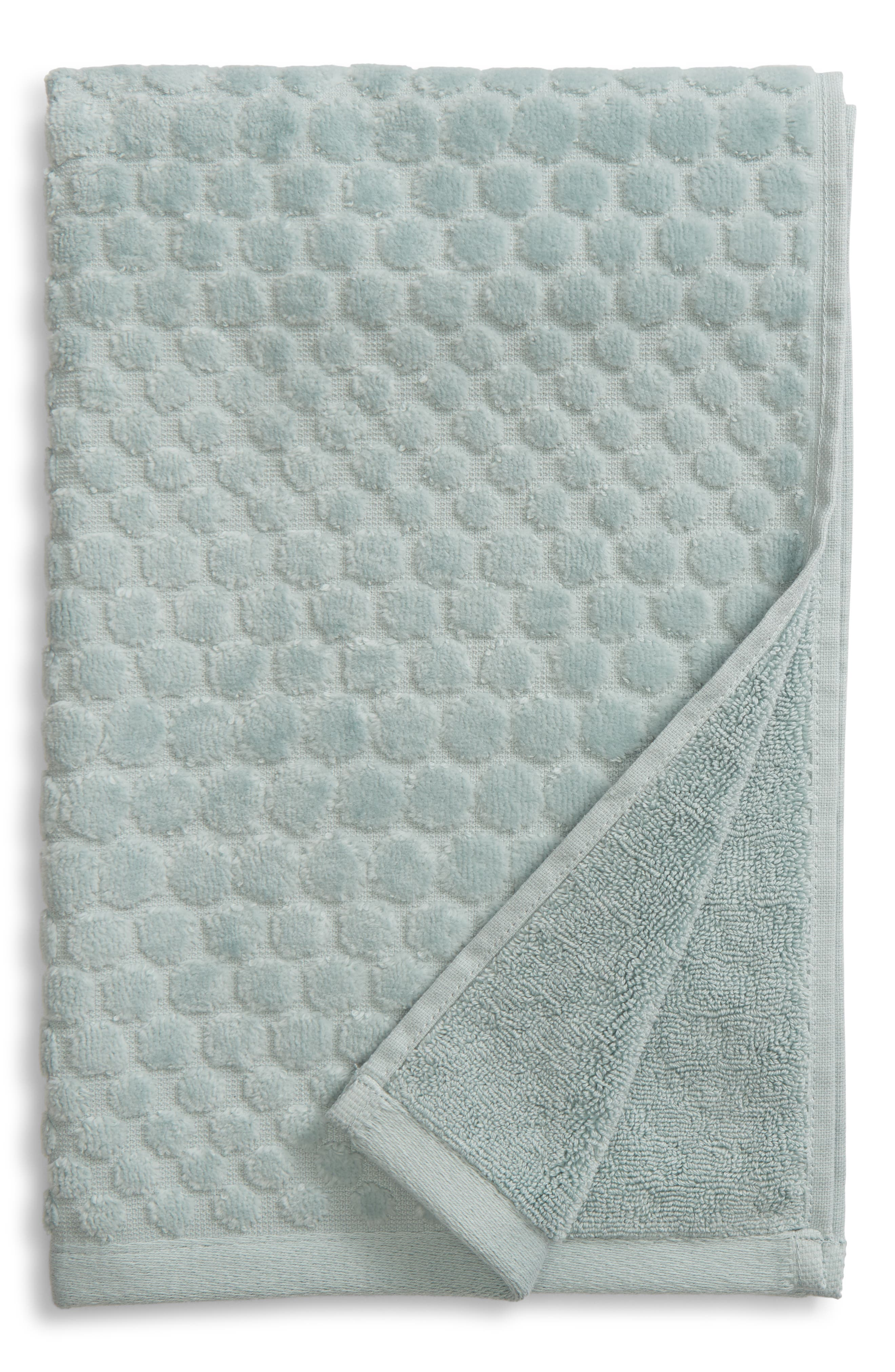 Lorenza Hand Towel,                             Main thumbnail 1, color,                             TEAL MIST