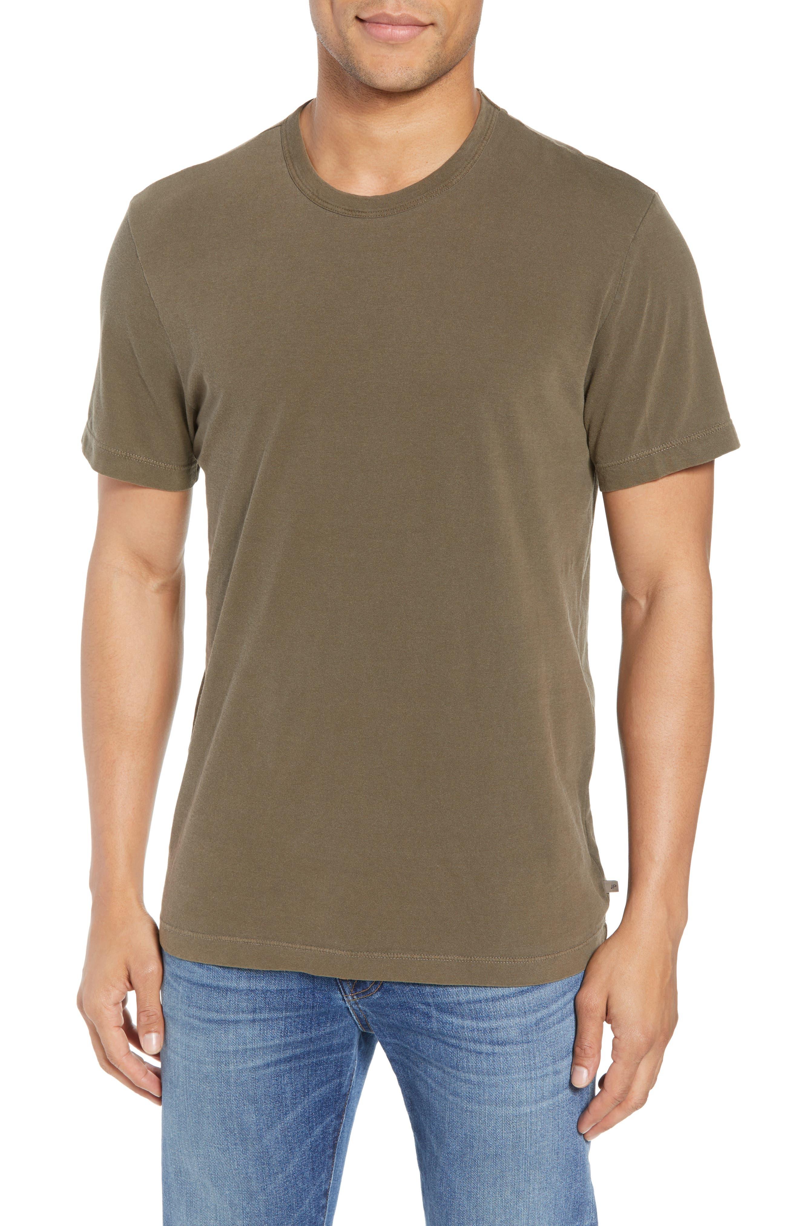 Crewneck Jersey T-Shirt,                             Alternate thumbnail 119, color,