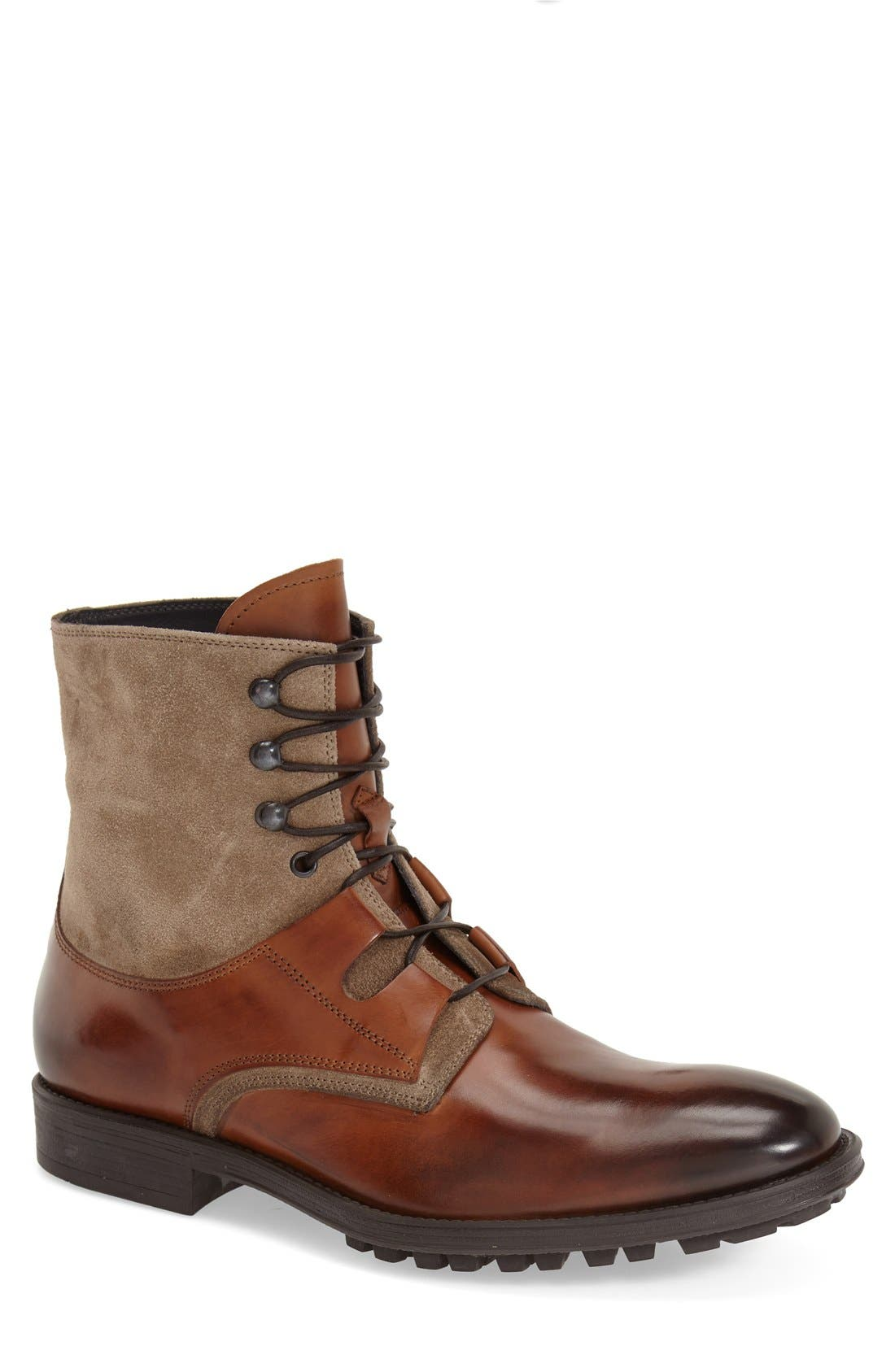'Blake' Lace-Up Boot, Main, color, 221