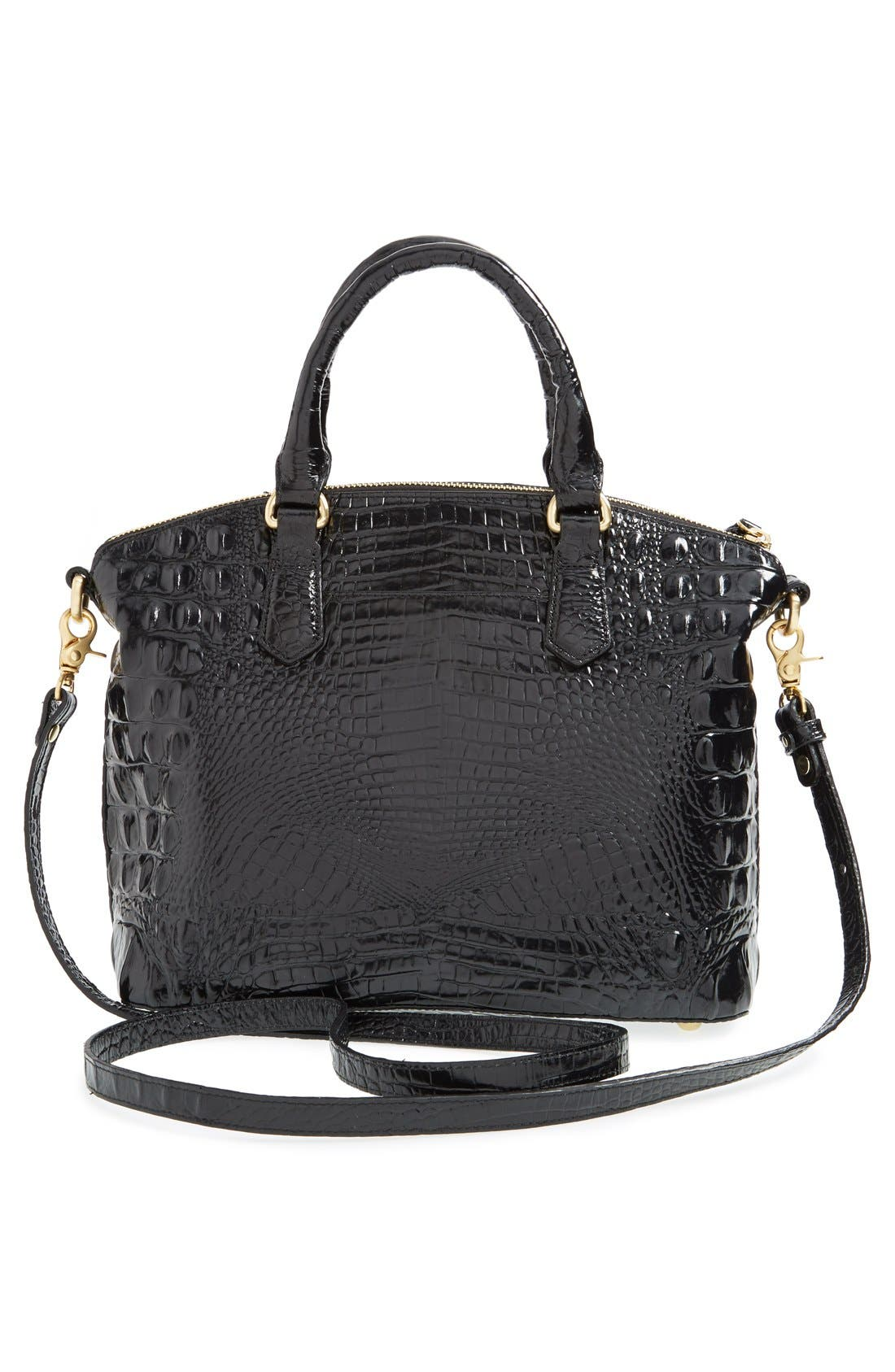 'Medium Duxbury' Croc Embossed Leather Satchel,                             Alternate thumbnail 71, color,