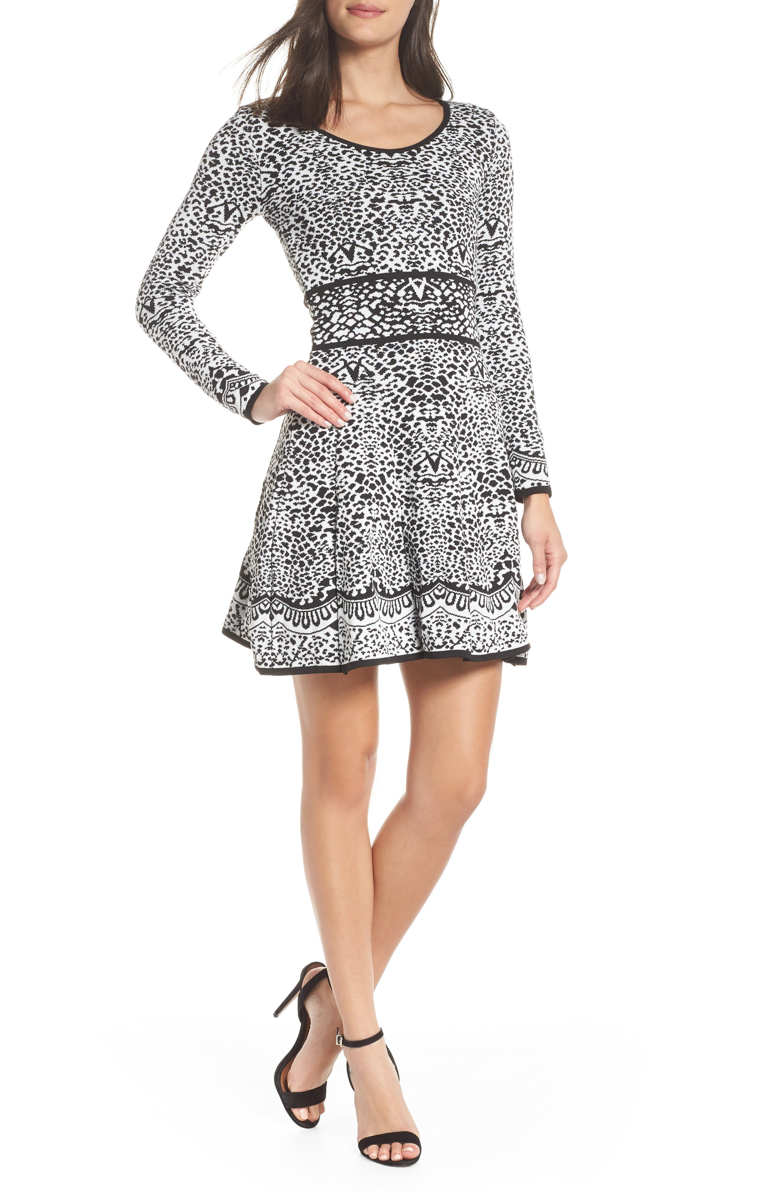 Flare Sweater Dresses