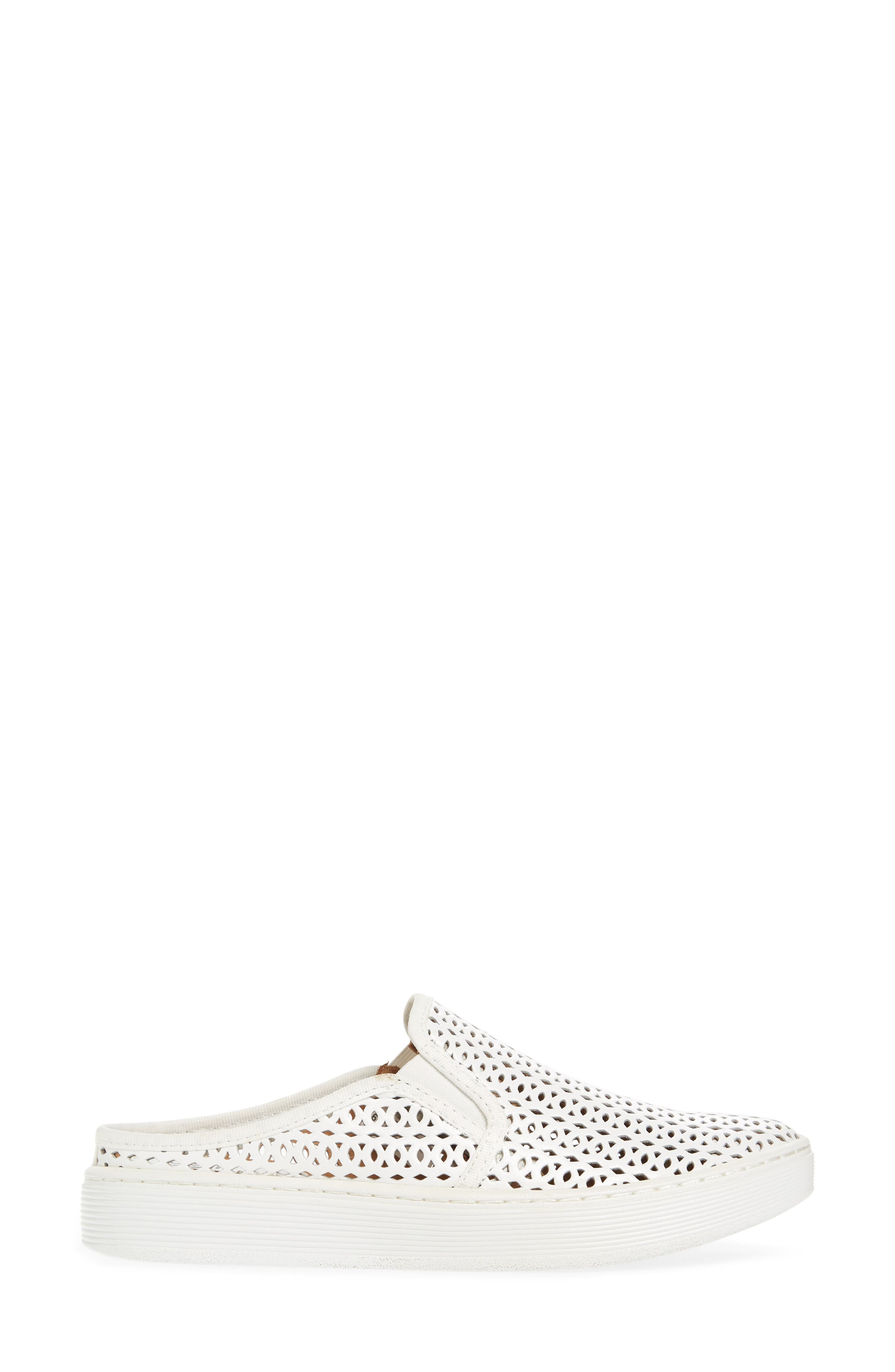 Somers II Sneaker,                             Alternate thumbnail 3, color,                             WHITE LEATHER