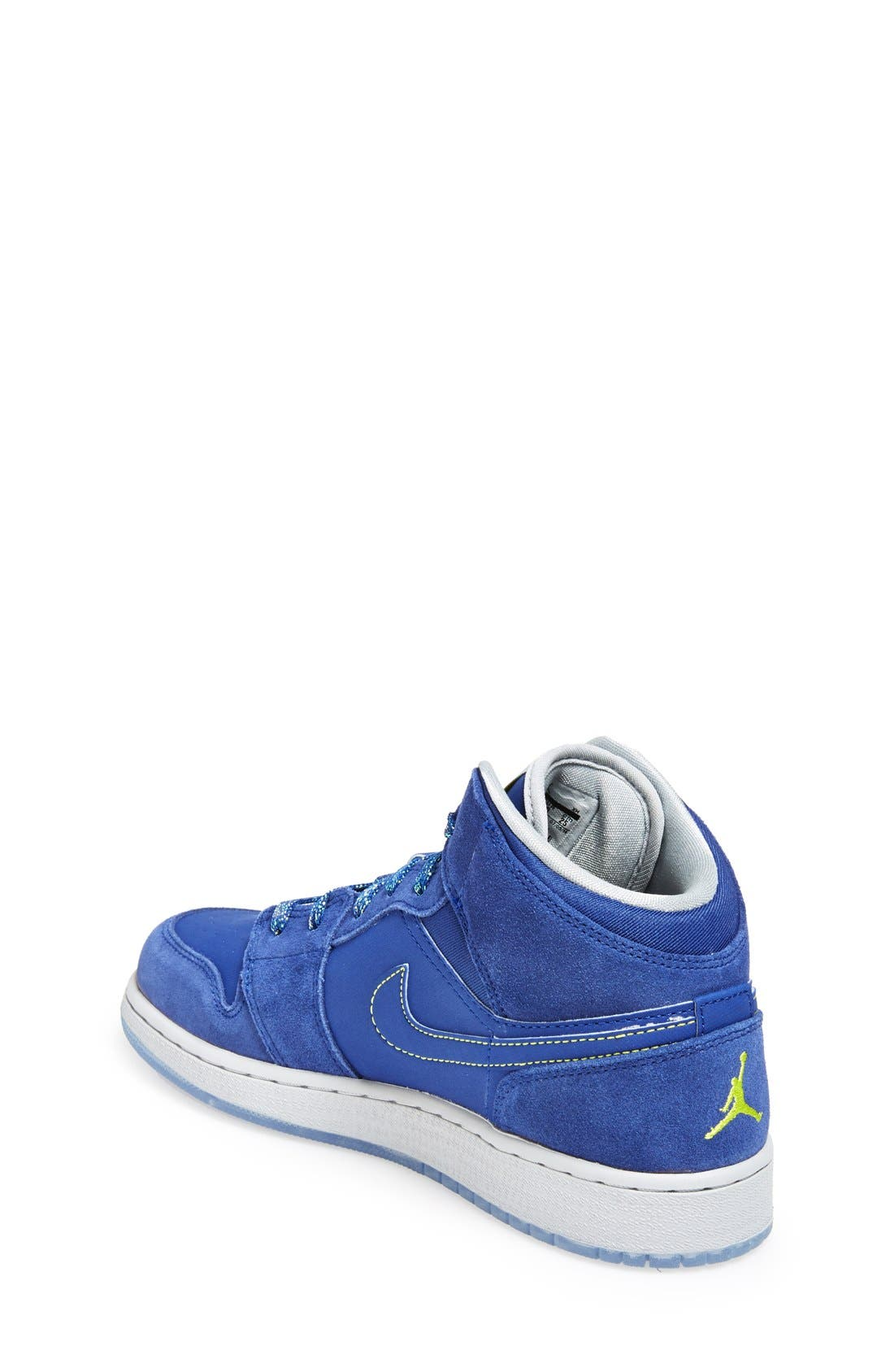 Nike 'Air Jordan 1 Mid' Sneaker,                             Alternate thumbnail 14, color,